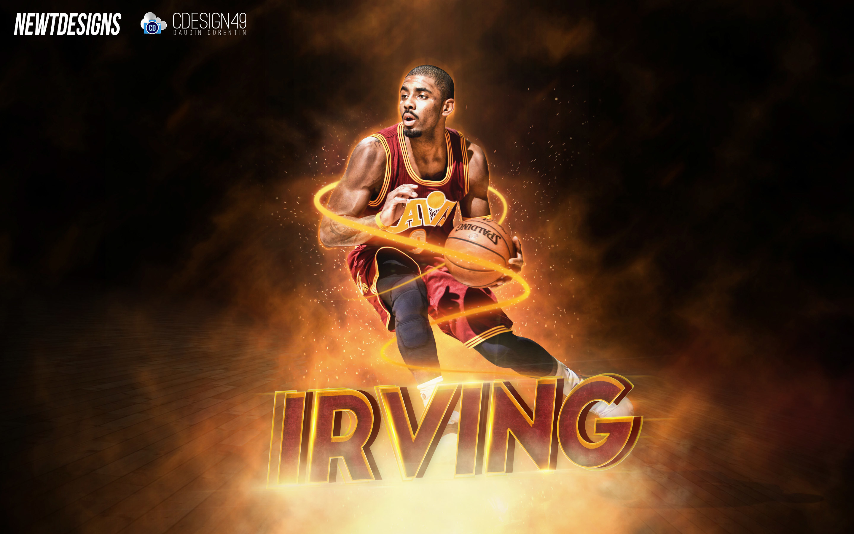 2880x1800 Kyrie Irving Cleveland Cavaliers 2016 Wallpaper