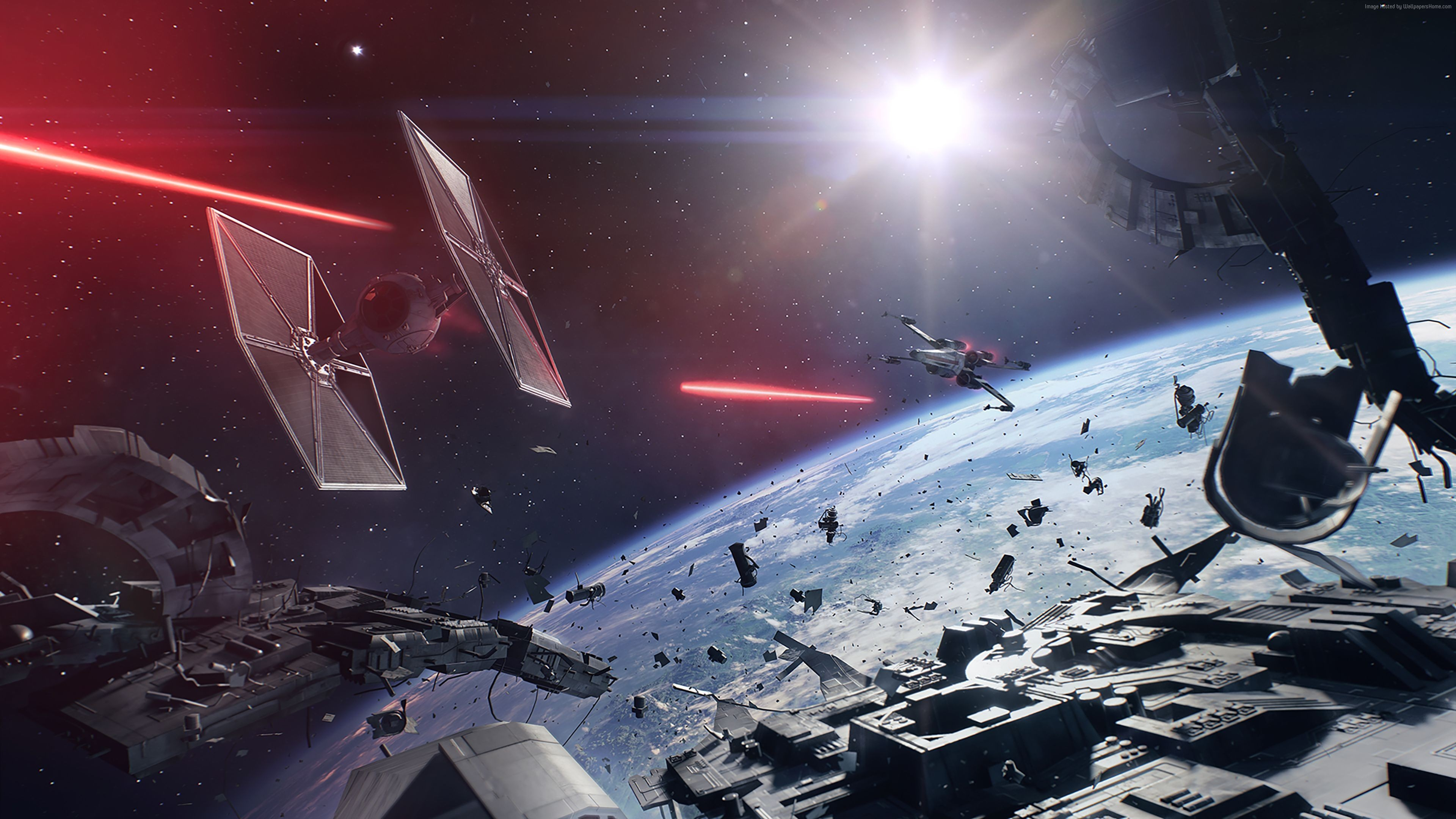 3840x2160 Star Wars Battlefront II 4K Wallpaper