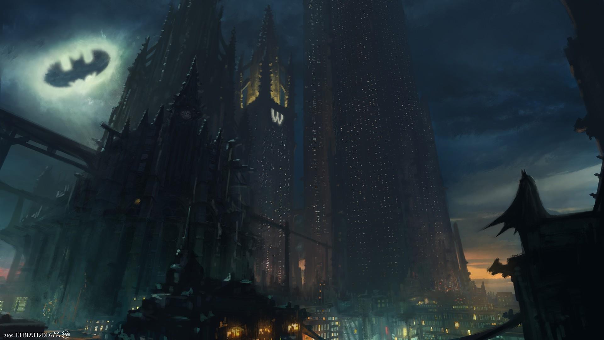Gotham City Background (62+ images)
