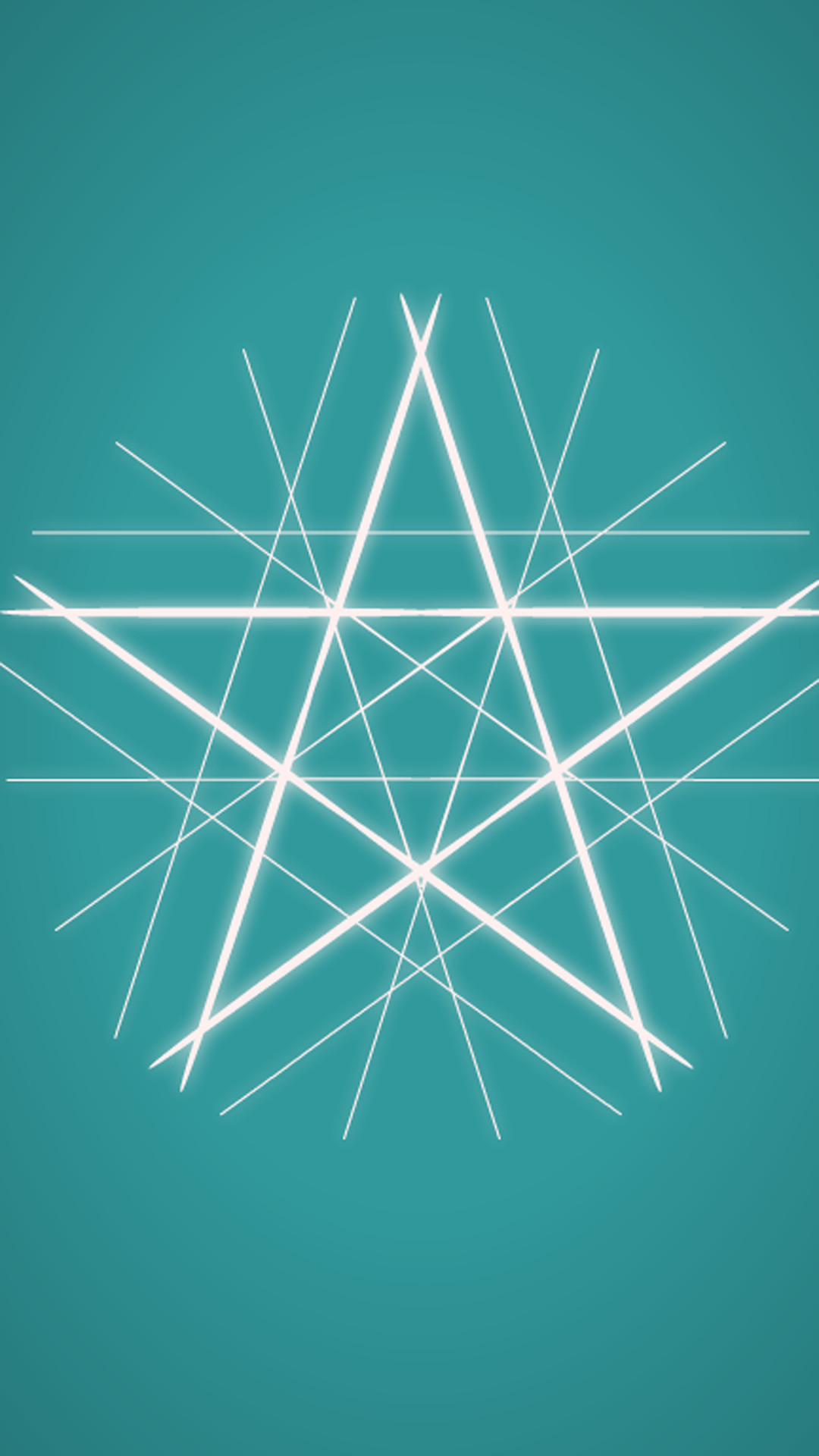 1080x1920 Cyan Clear Star Background iPhone 8 wallpaper