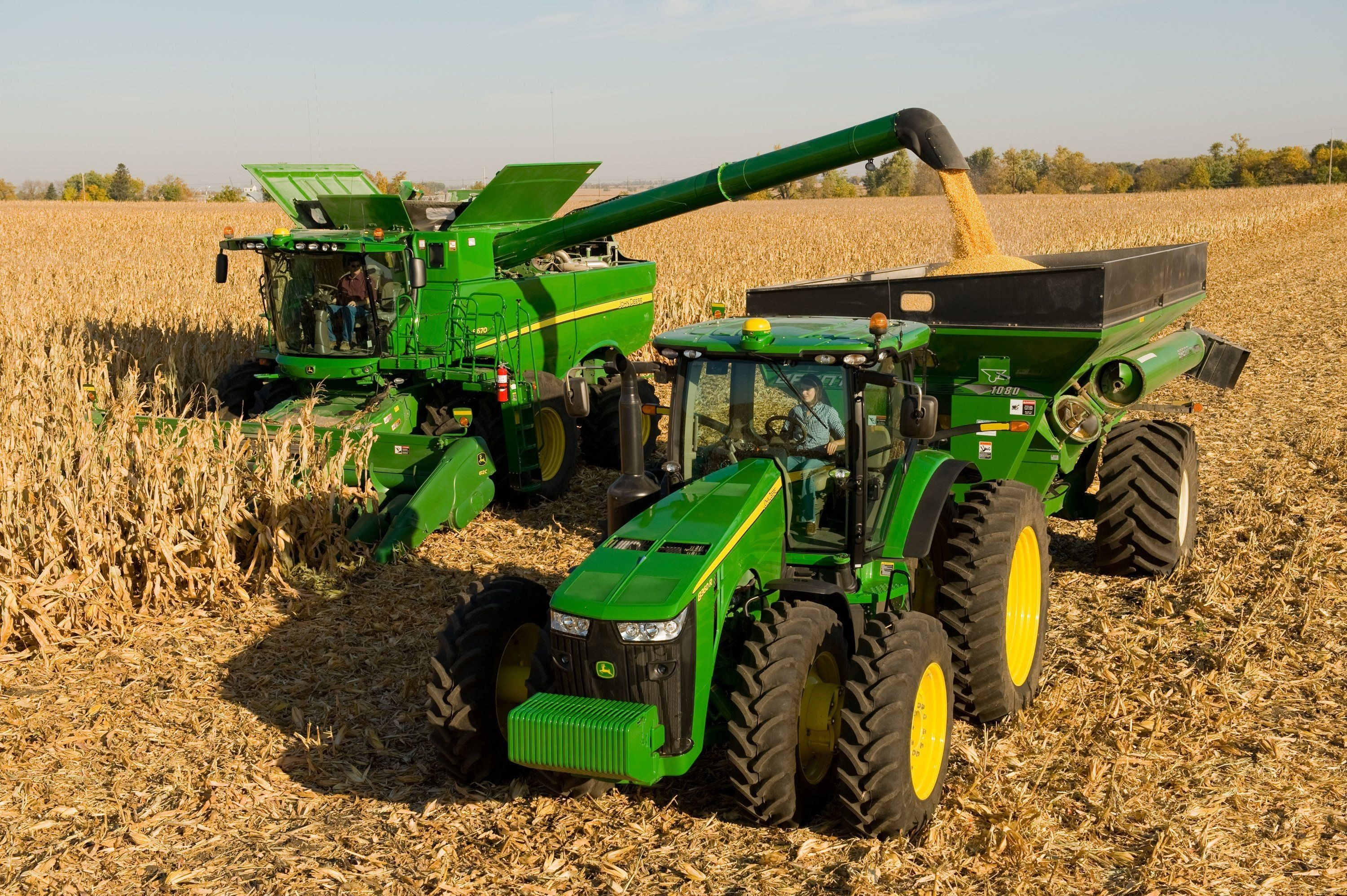 3000x1996 HD John Deere 4k Picture for PC