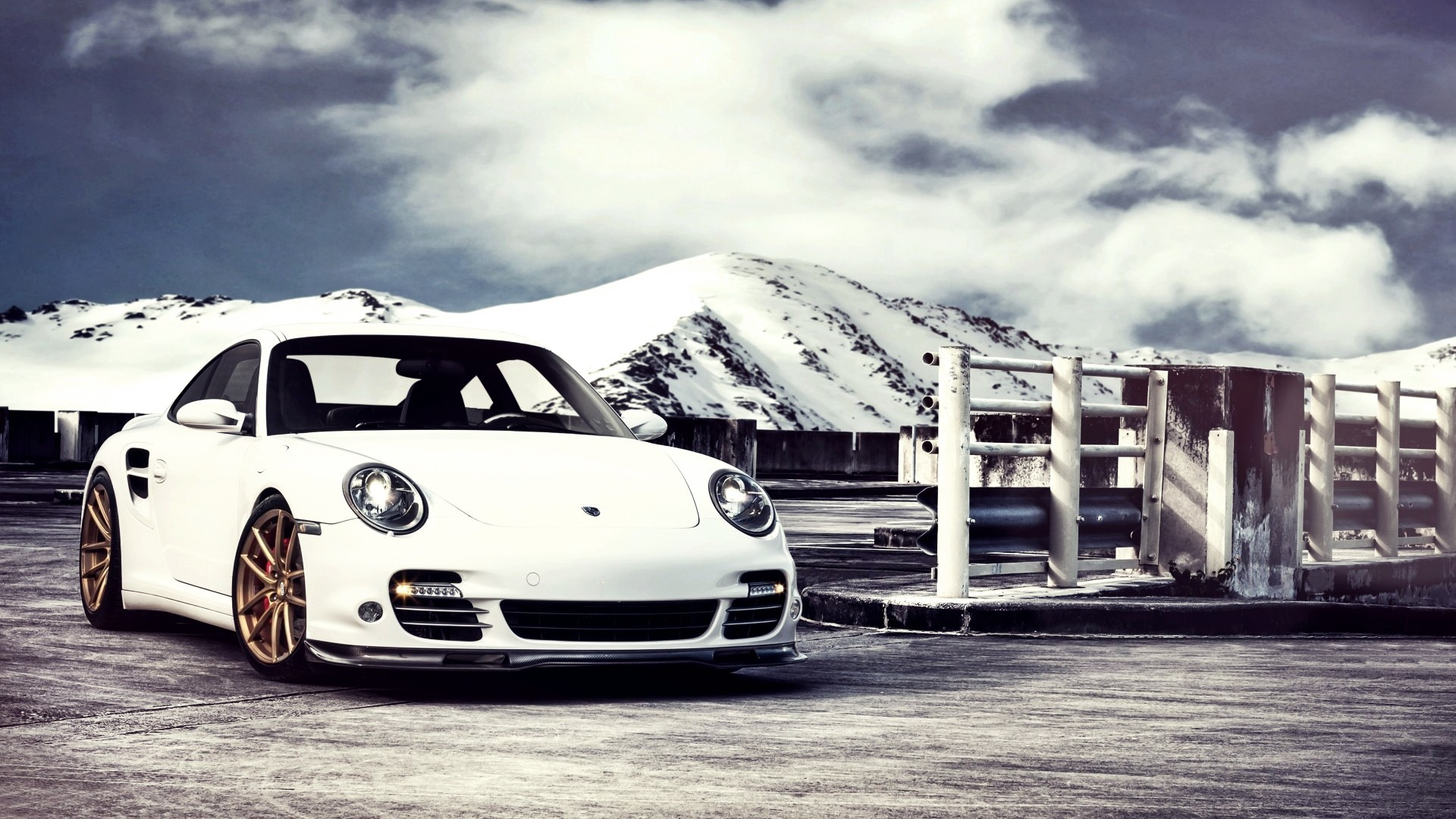 1920x1080 Porsche 911 Turbo Car HD Desktop Wallpaper