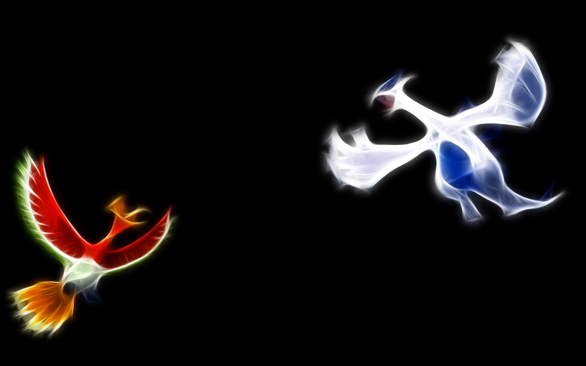 1920x1200 Ho Oh And Lugia wallpaper - 878317