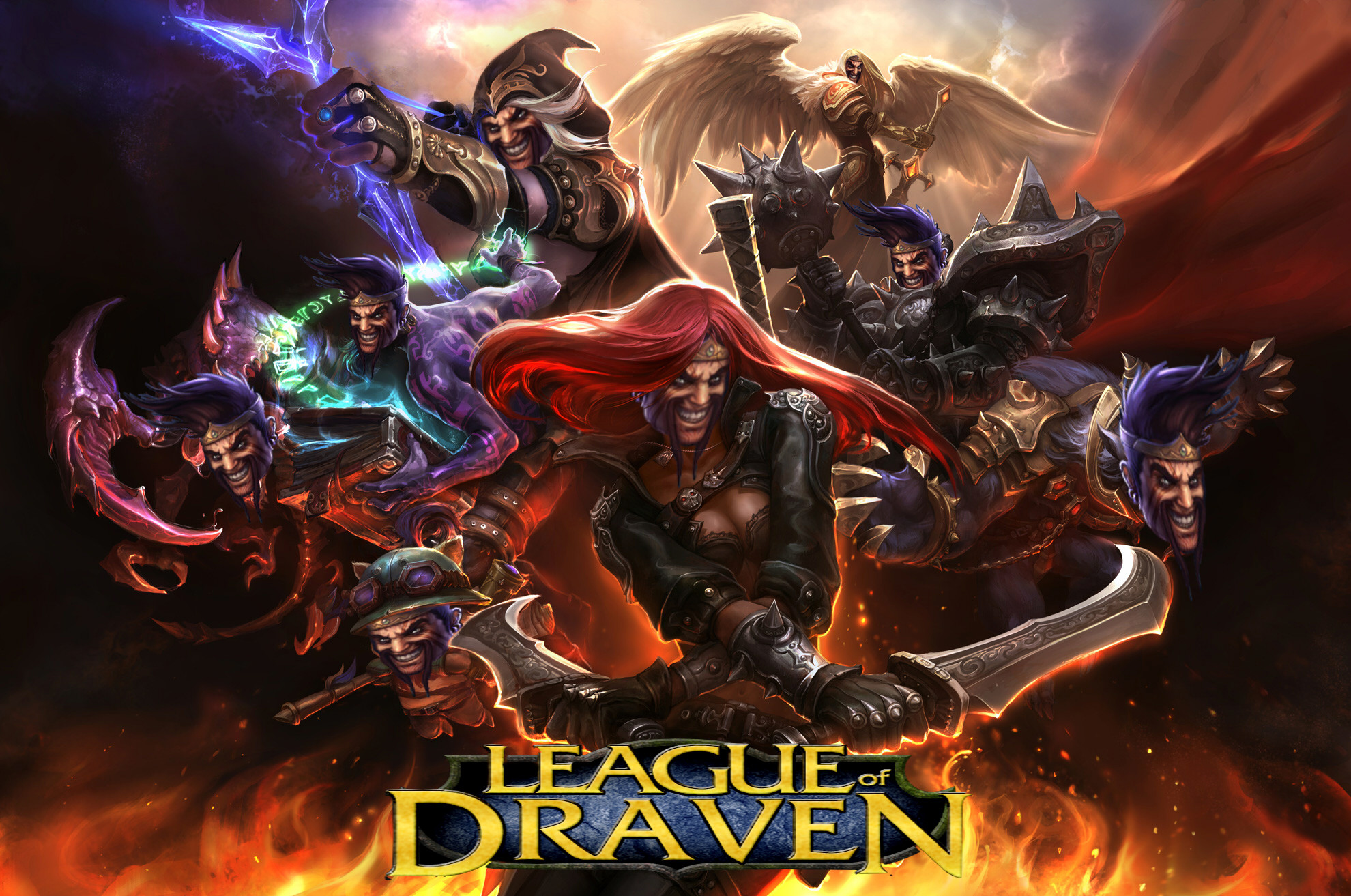 1980x1313 Darius and Draven - League of Legends Wallpaper #3013 ...