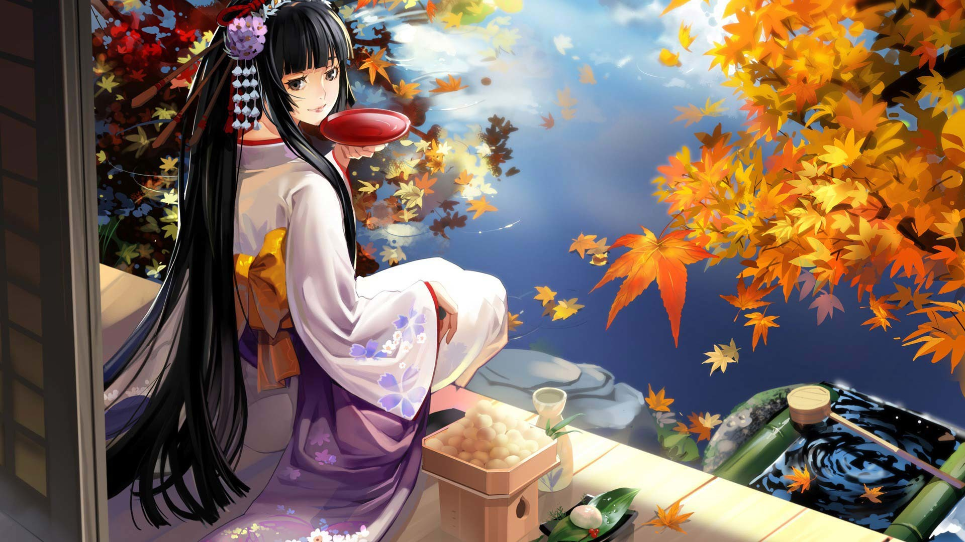 Cute Anime Wallpapers Hd 61 Images