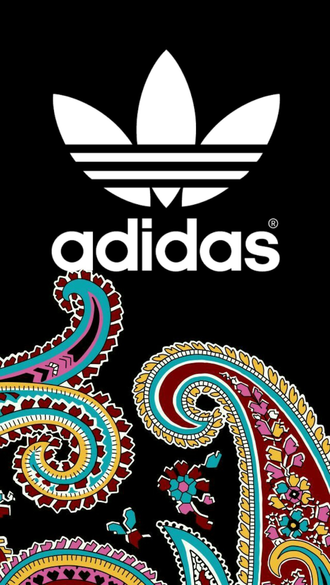 1107x1965 #adidas #black #wallpaper #android #iphone