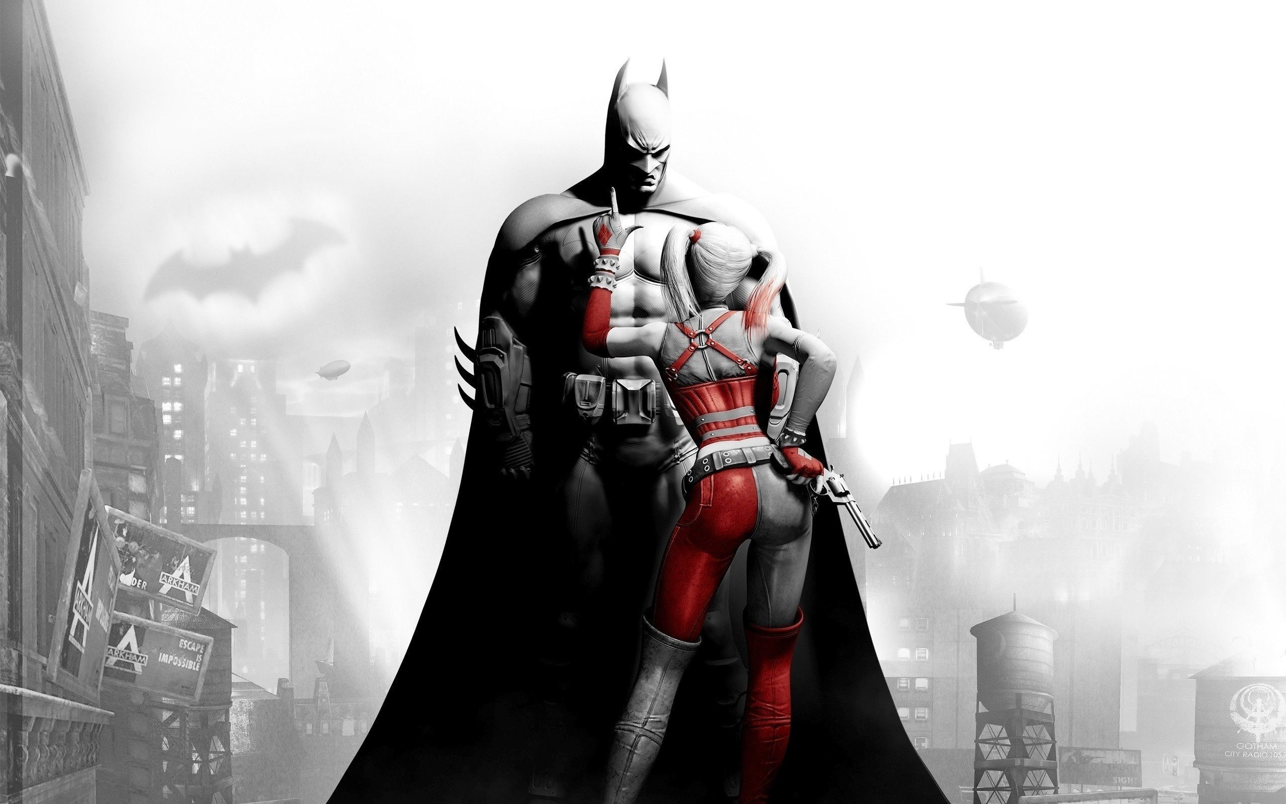 2560x1600 Batman Arkham City Wallpapers HD - Wallpaper Cave