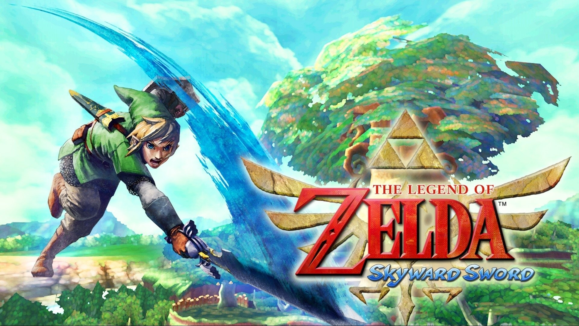 Zelda skyward sword wallpaper