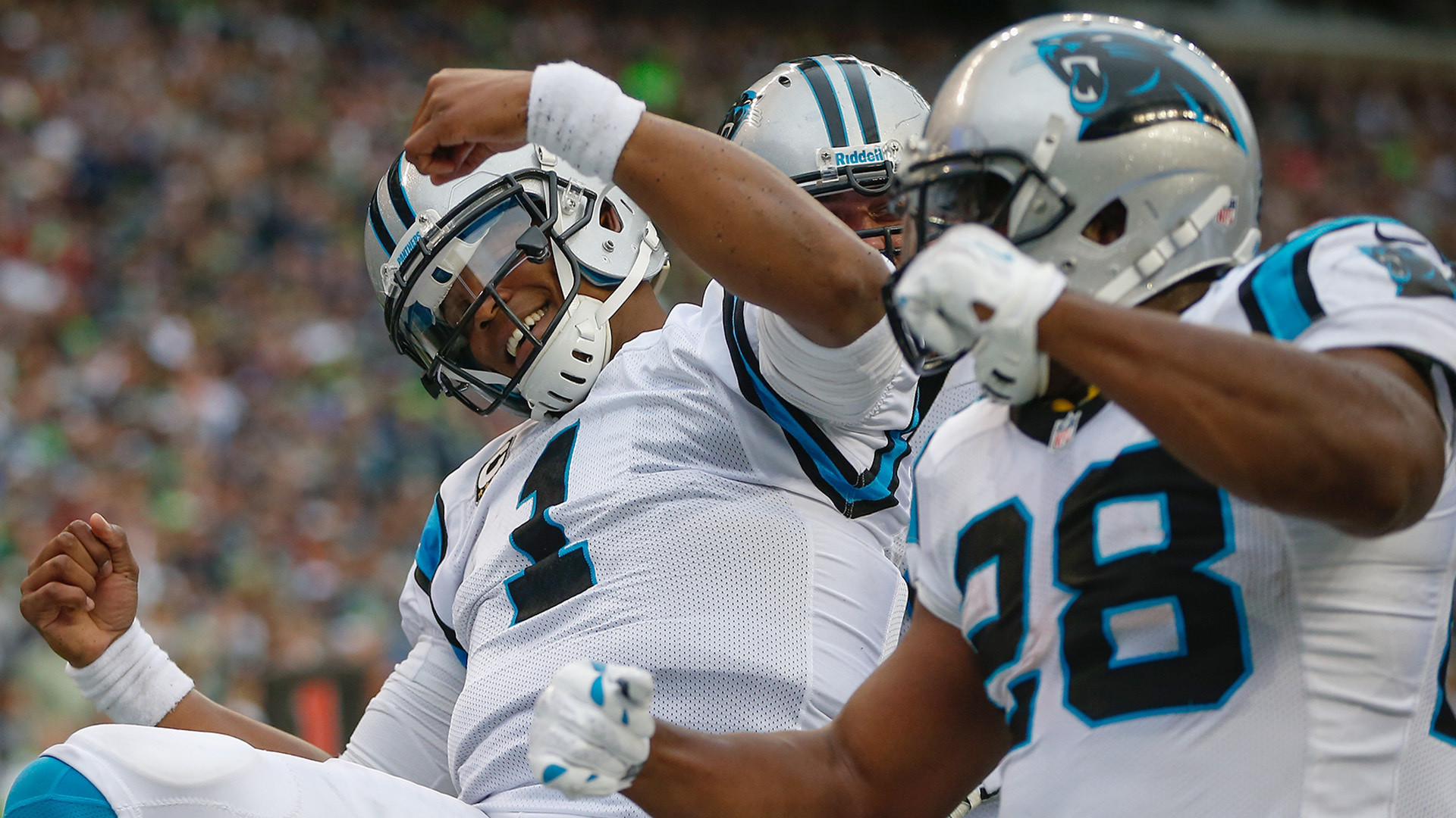 "1920x1080 Cam Newton Starts ""Dabbin"" After Touchdown - Seahawks Fan VideosSeahawks  Fan Videos"