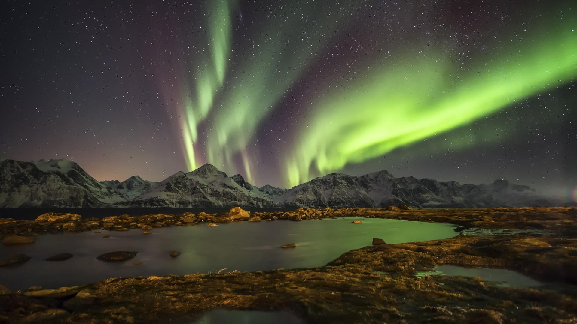 Hd northern lights wallpaper 70 images - Night light hd wallpaper ...