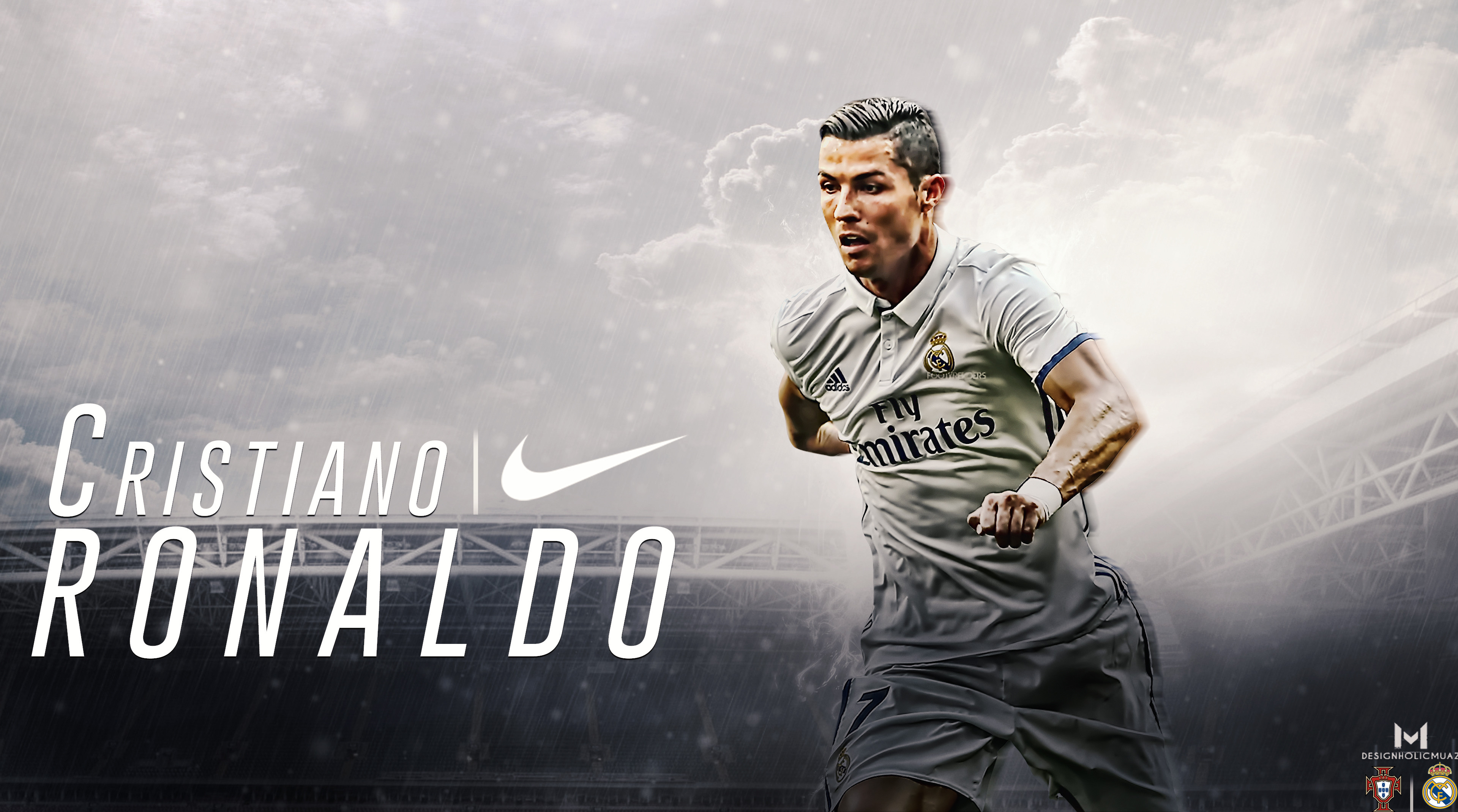 3840x2140 ... Cristiano Ronaldo-Real Madrid-Portugal Wallpaper by muajbinanwar
