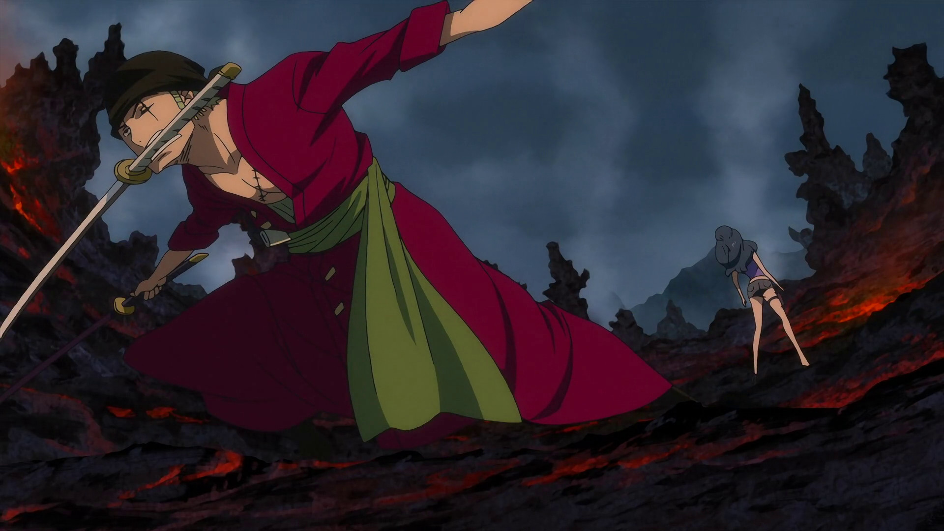 1920x1080 One Piece Zoro Defeats Ain Movie Z New World Wallpaper | One Piece