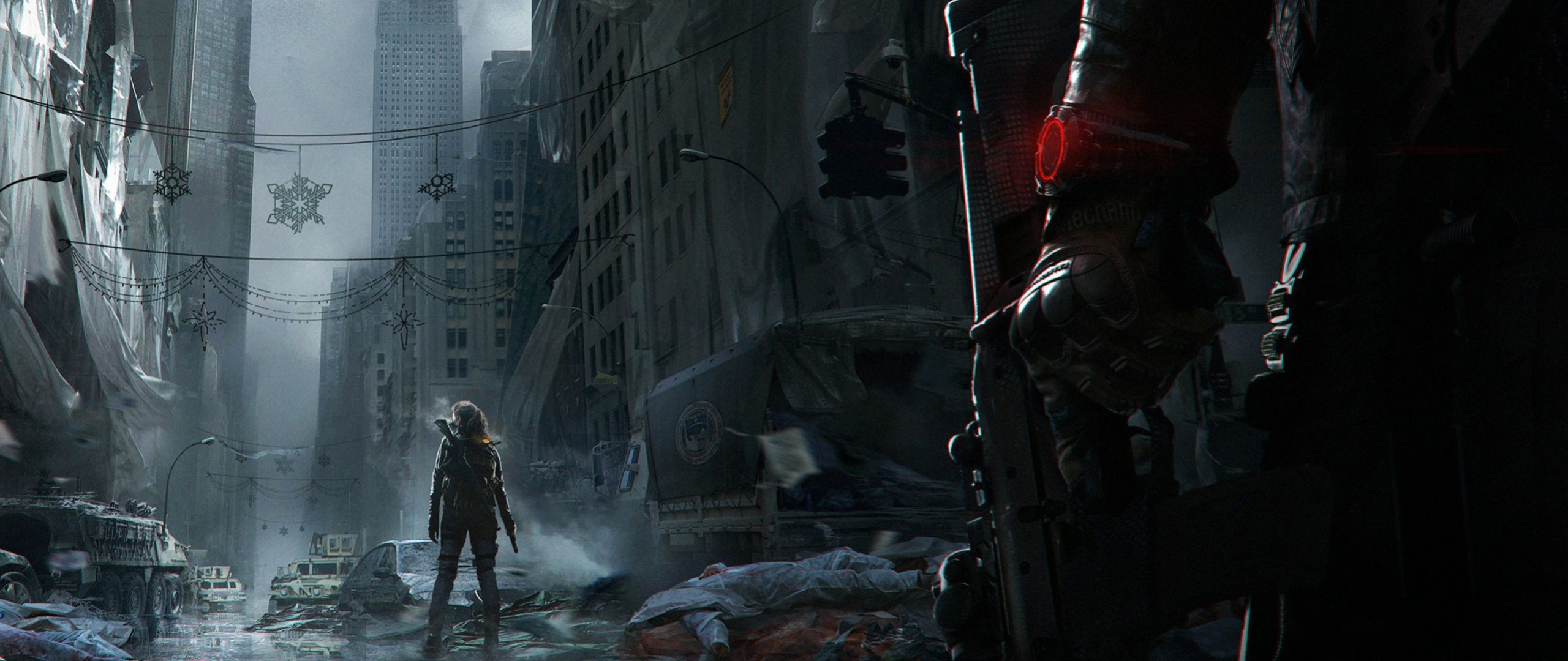 2560x1080 Preview wallpaper tom clancy, the division, ubisoft entertainment