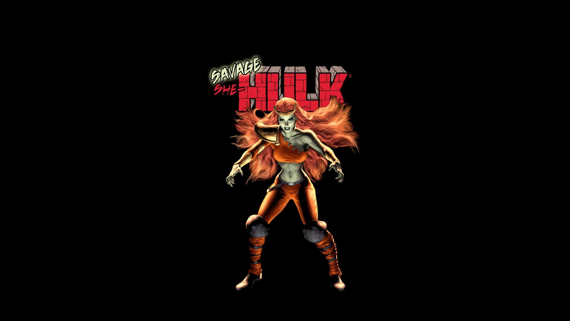 1920x1080 savage she hulk : Wallpaper Collection