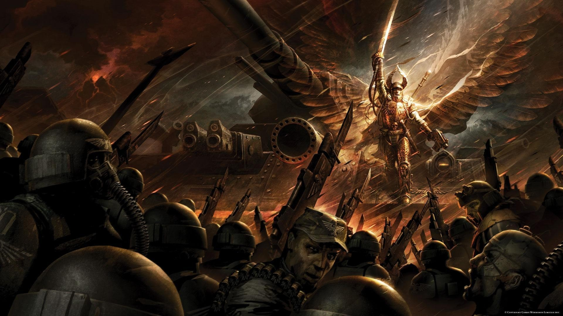 1920x1080 Explore Warhammer 40000, Solar, and more! Imperial Guard wallpaper