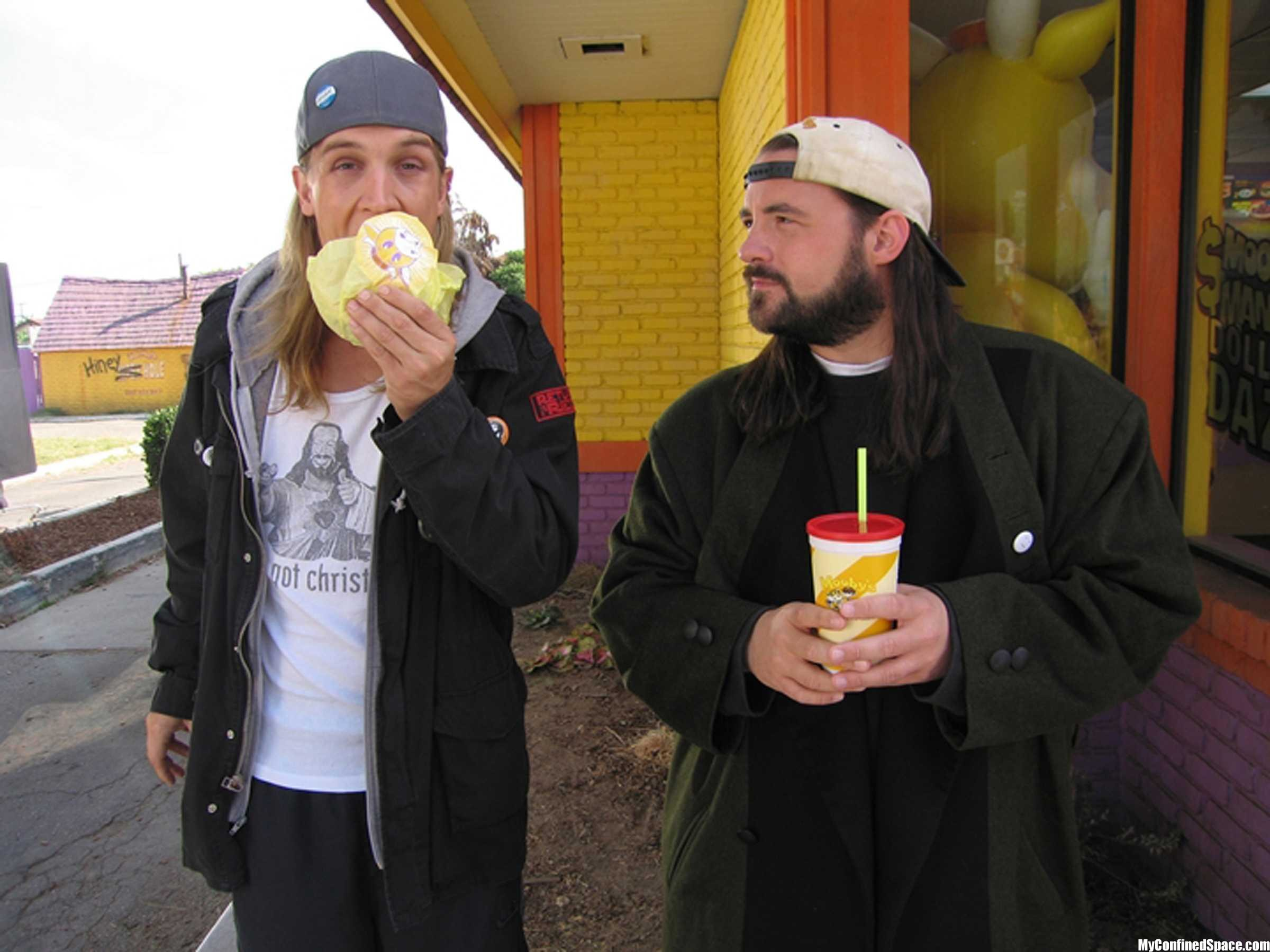 2400x1800 Jay And Silent Bob Wallpaper (clerks 2)