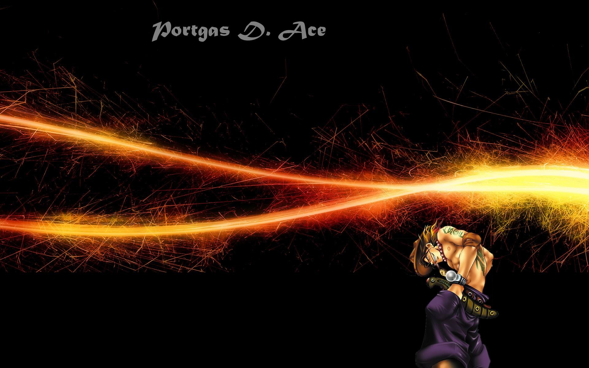 1920x1200 ... One Piece Ace Wallpapers | Wallpaper Cave