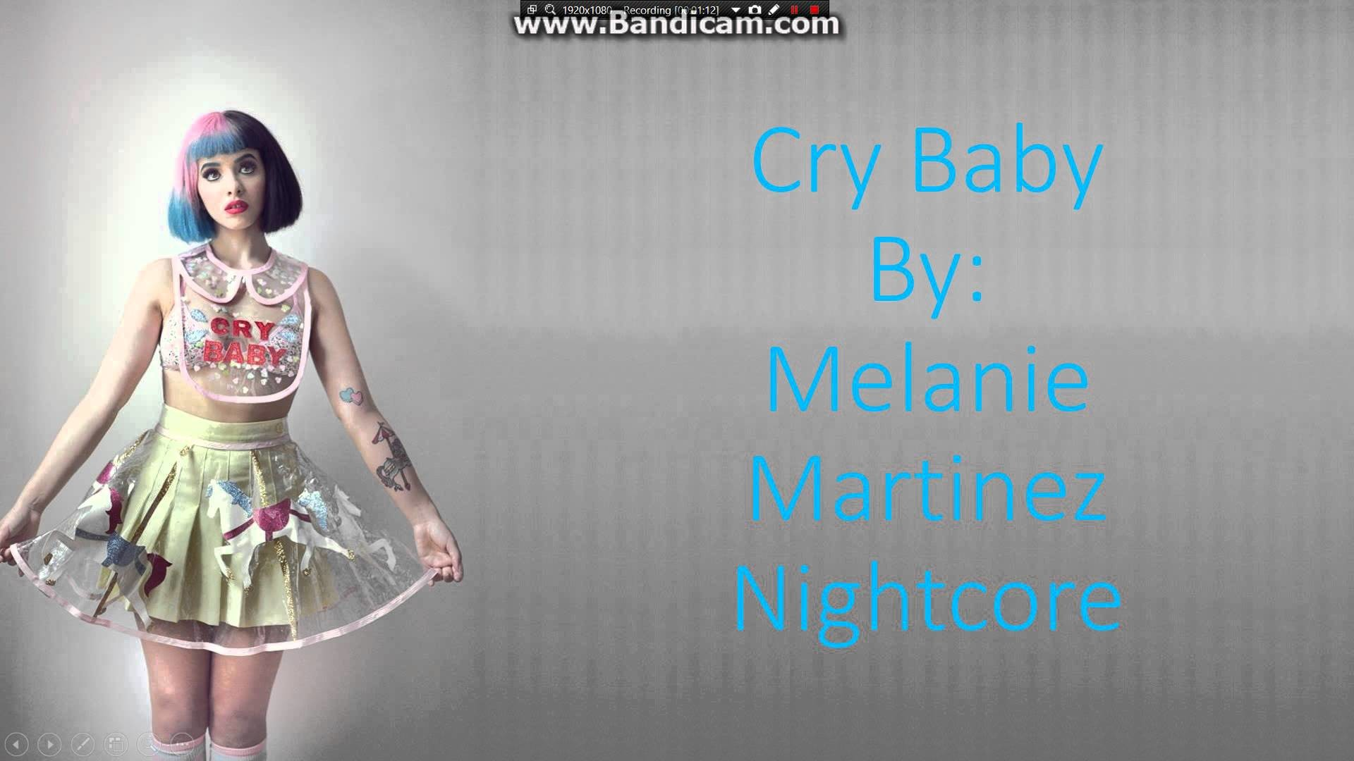 1920x1080 Melanie Martinez- Cry Baby Nightcore