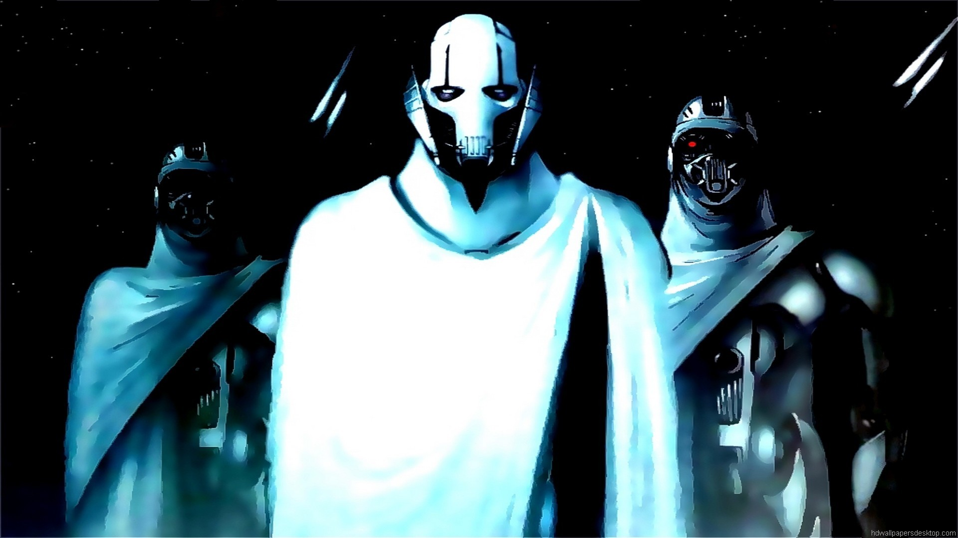 1920x1080  Wallpaper, 1080p, Desktop, general grievous artwork wallpapers  15341 .