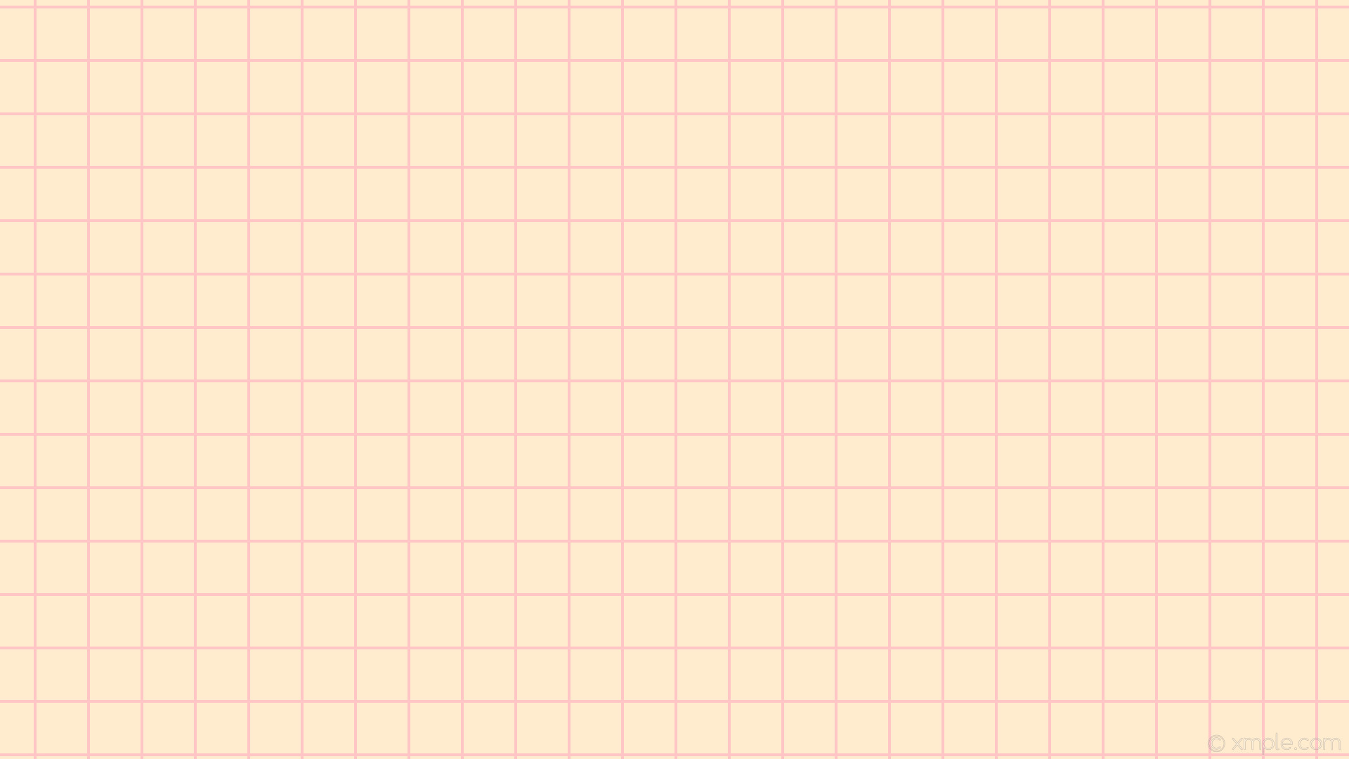 1920x1080 wallpaper graph paper pink grid brown blanched almond light pink #ffebcd  #ffb6c1 0°