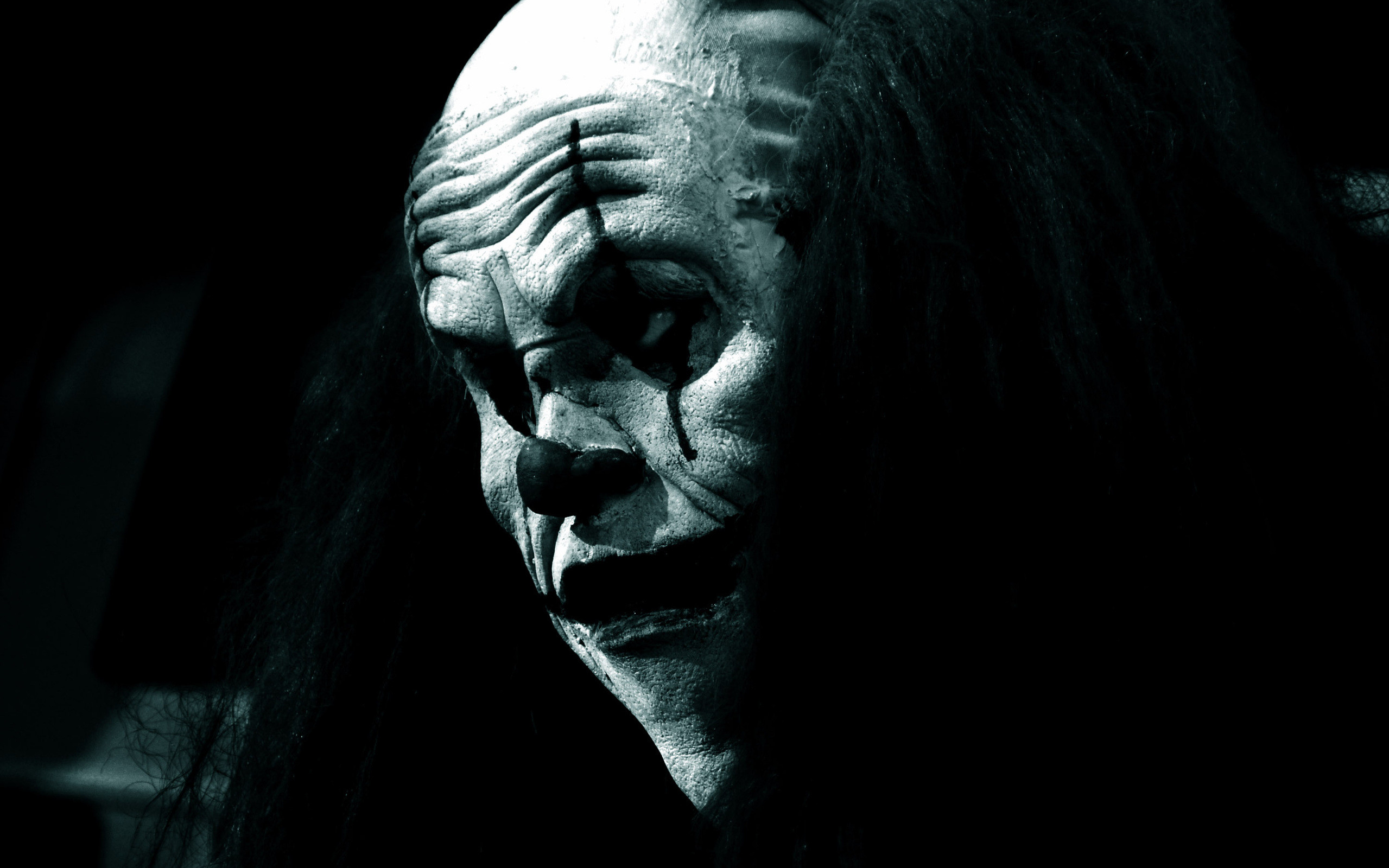 2559x1600 Scary clown wallpaper gothic. Wallpapers 3d for desktop, 3d pictures