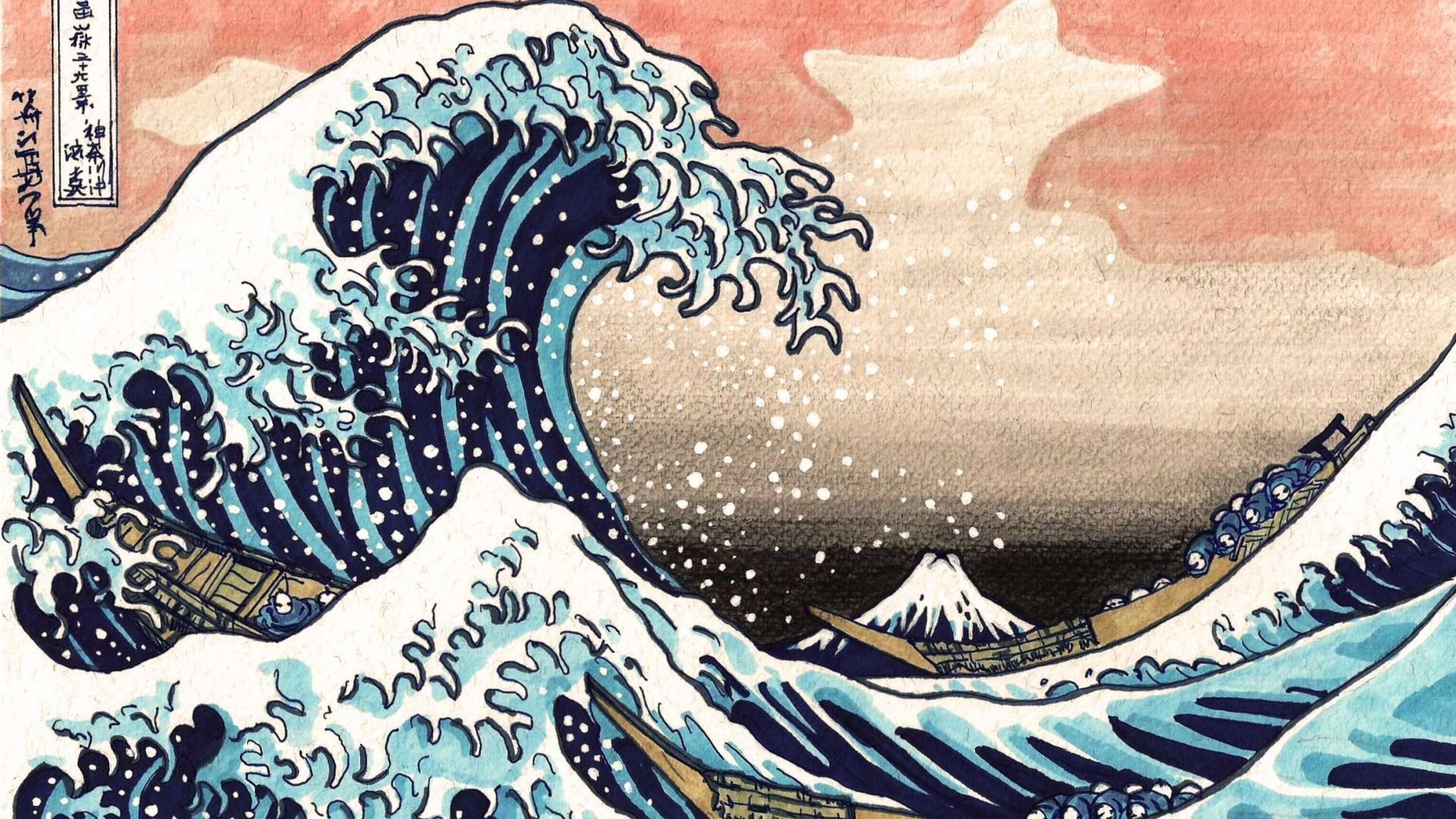 The Great Wave Off Kanagawa Wallpaper 60 Images