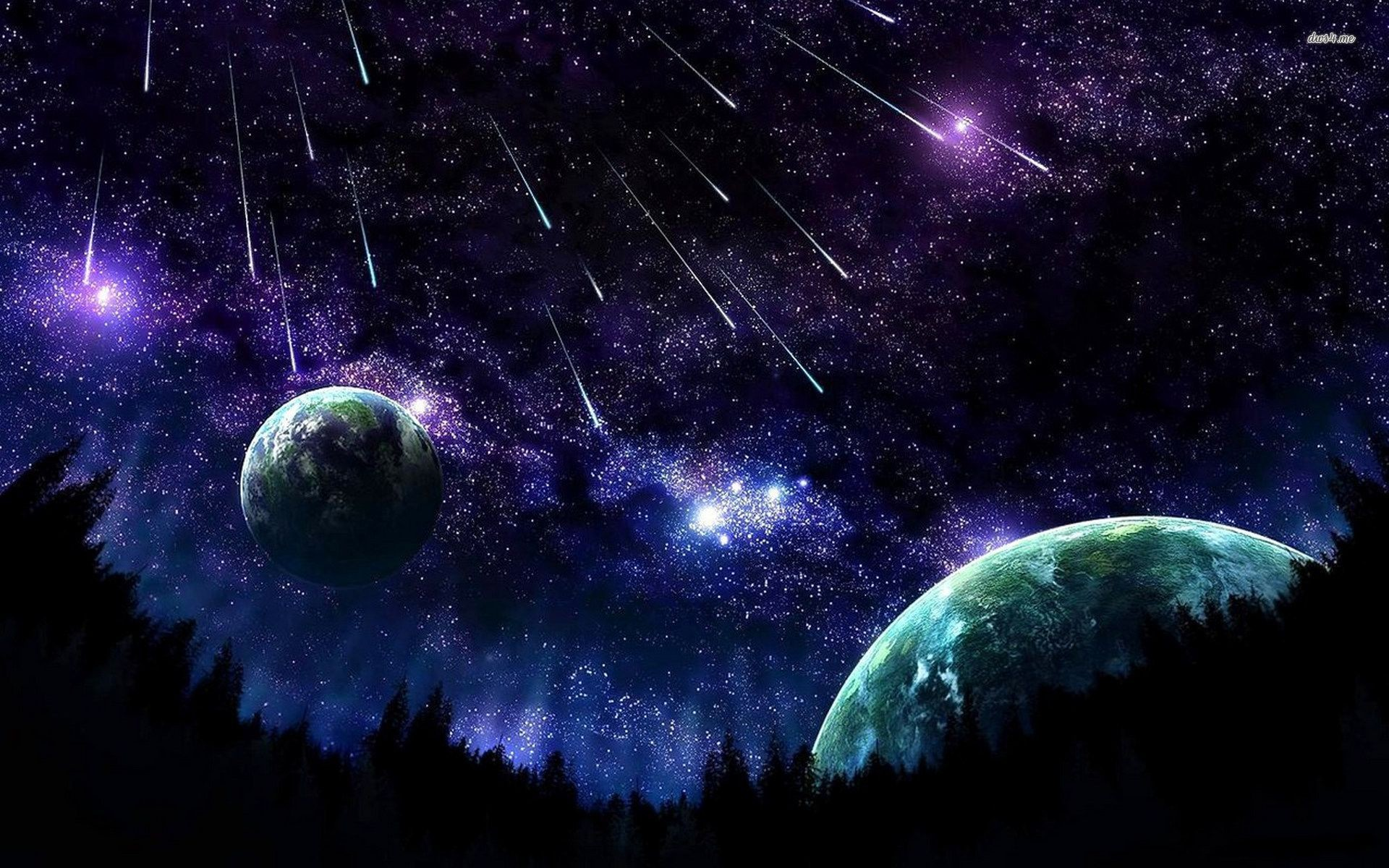 Animated Night Sky Wallpaper 51 Images