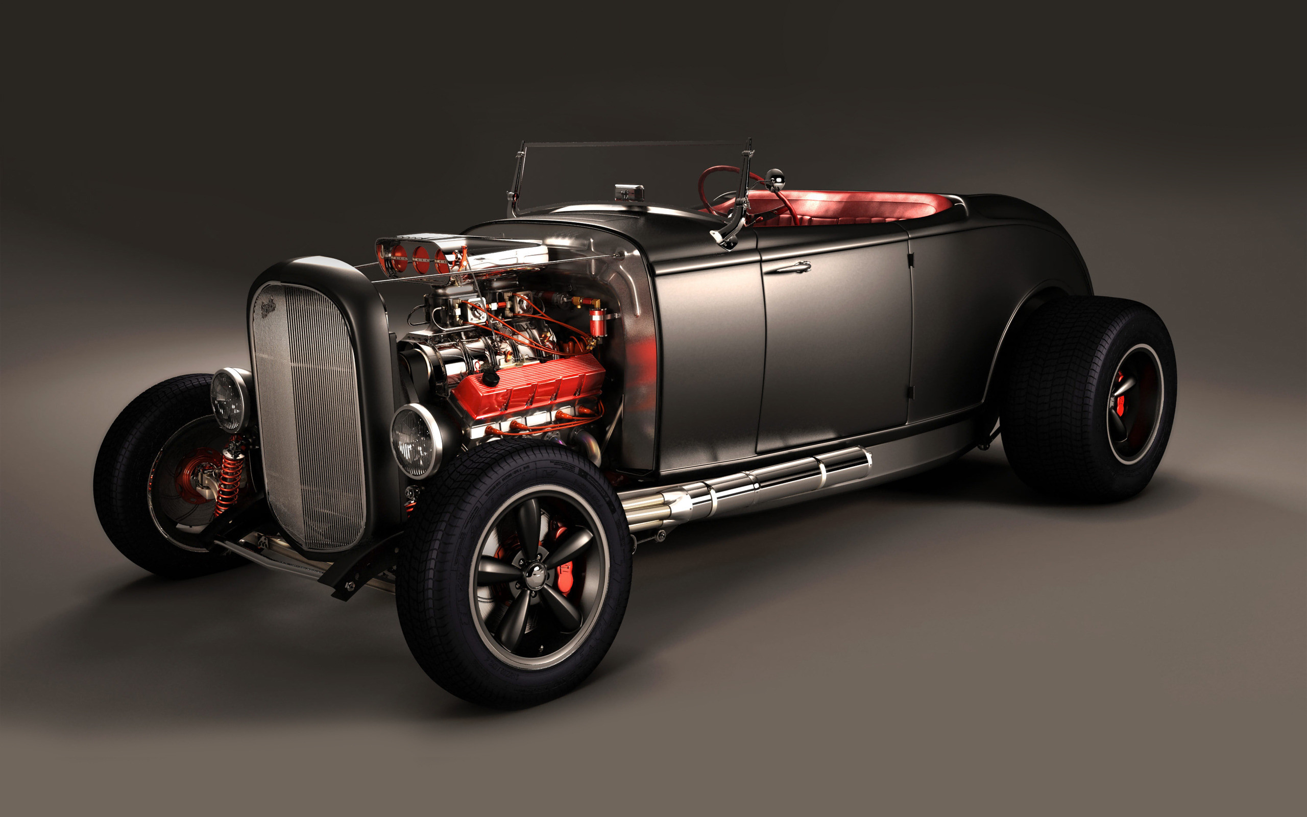 2560x1600 Ford 32 hot rod hi boy by on DeviantArt