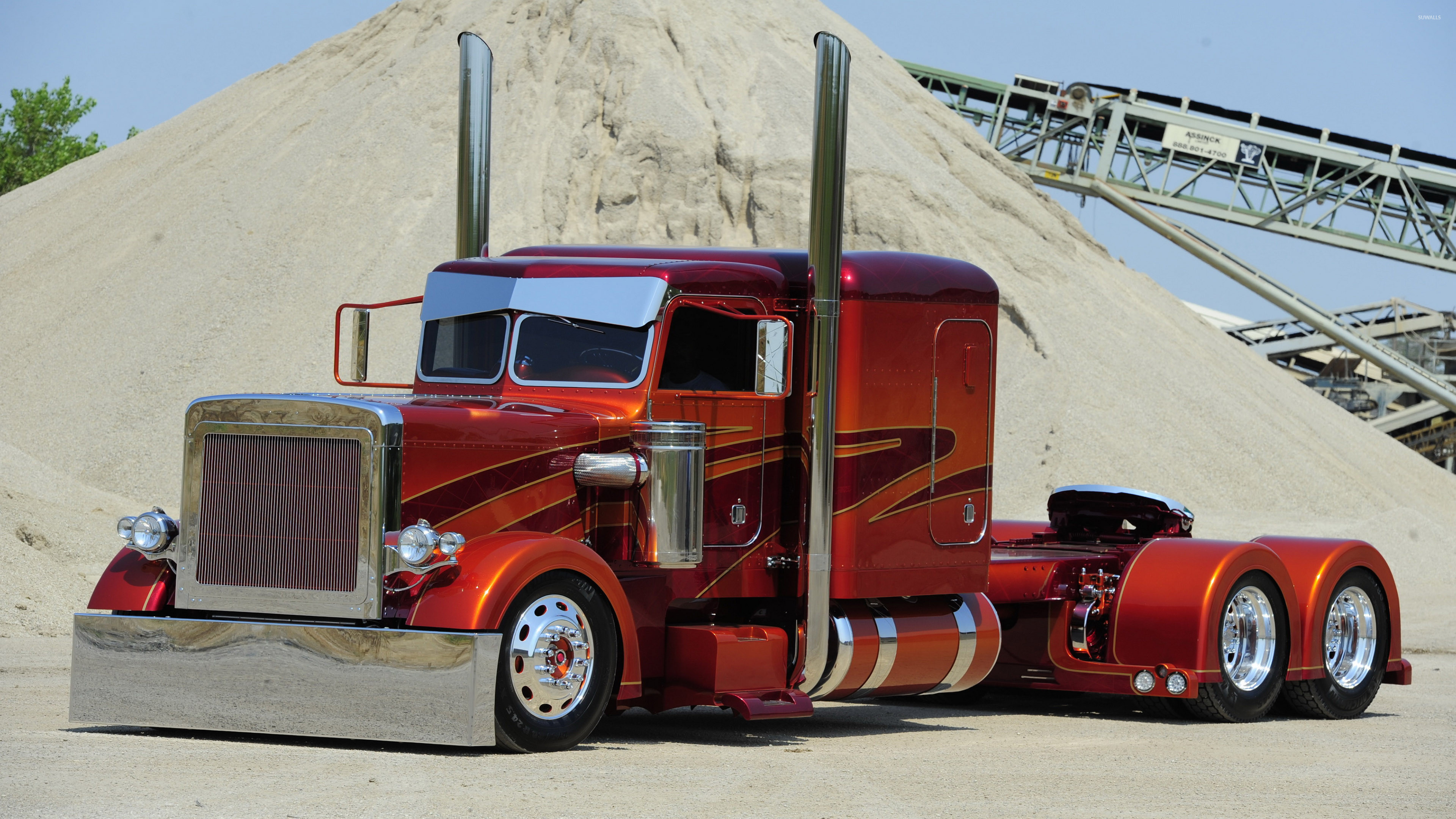 3840x2160 Peterbilt truck [3] wallpaper