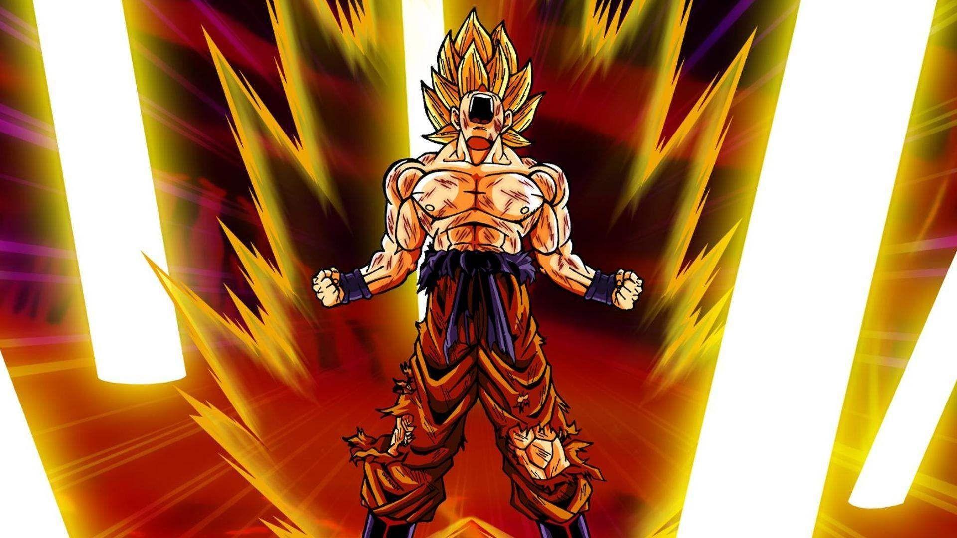 Goku Super Saiyan Wallpaper (72+ Images