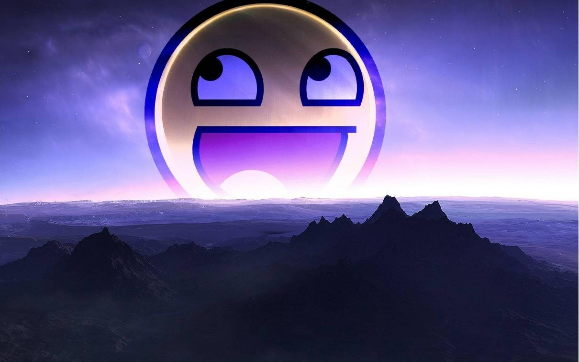 1920x1200 Epic Smiley Face