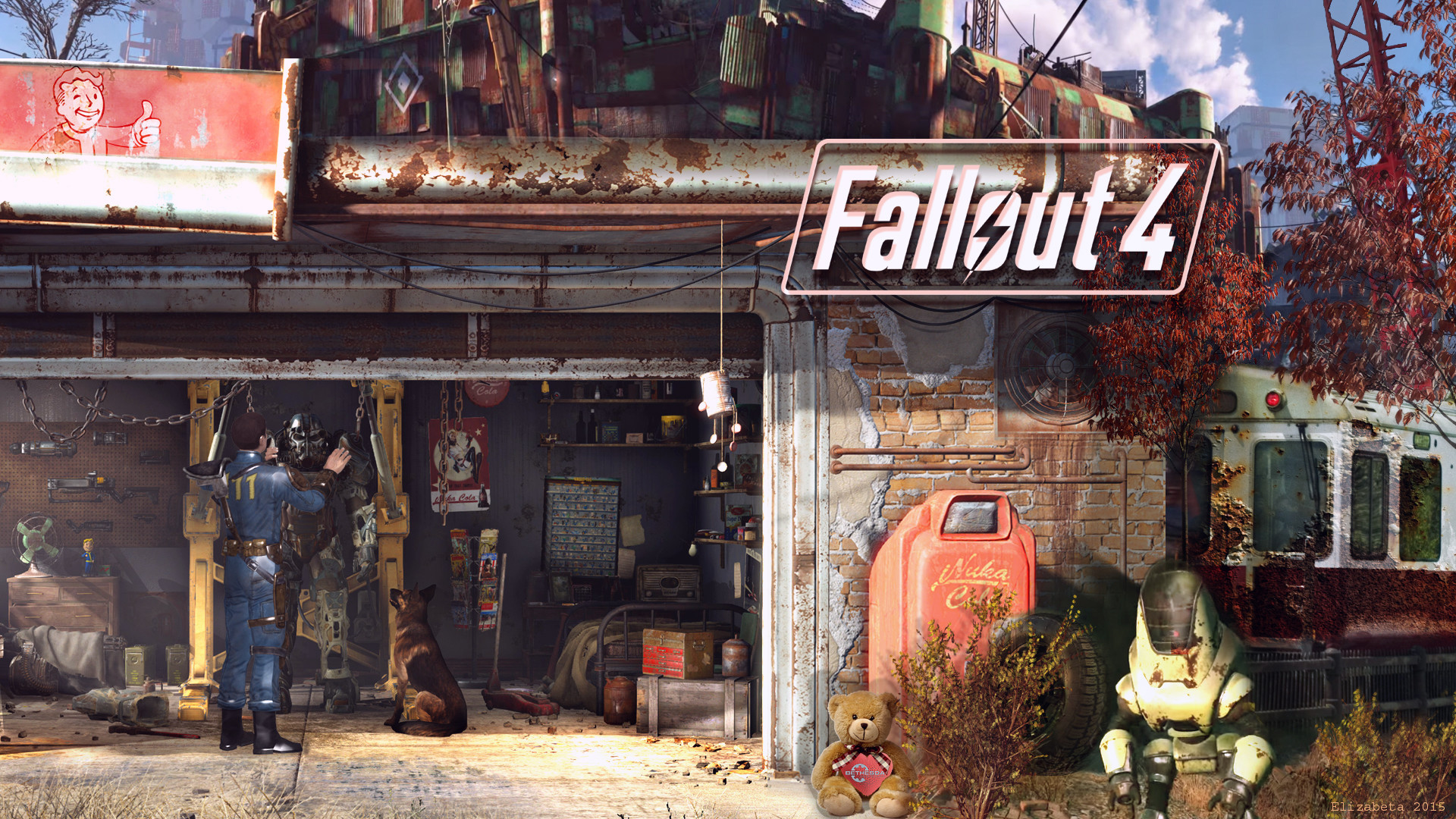 fallout 4 garage wallpaper 89 images