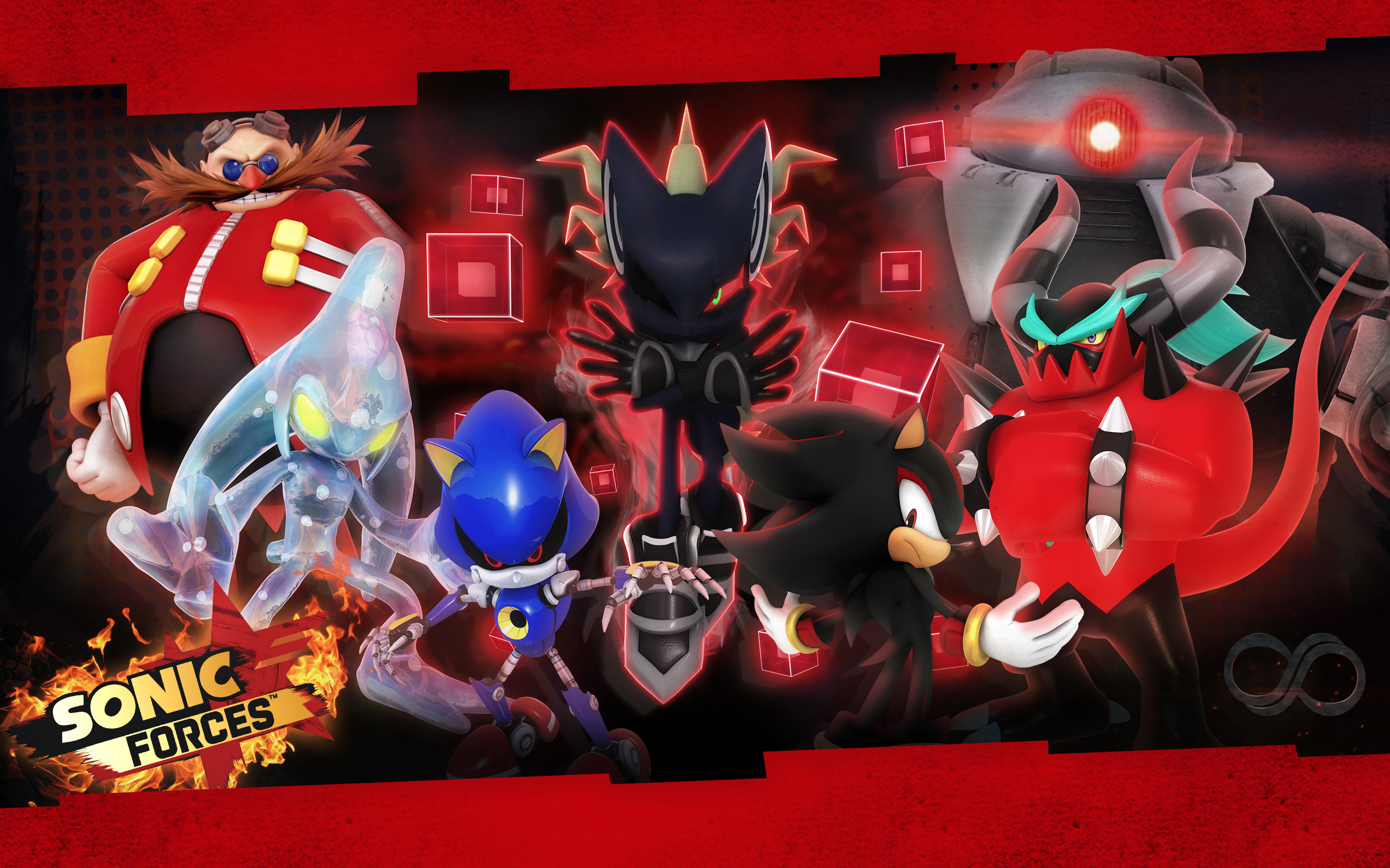 2880x1800 ... Sonic Forces: Villains Wallpaper by Nibroc-Rock