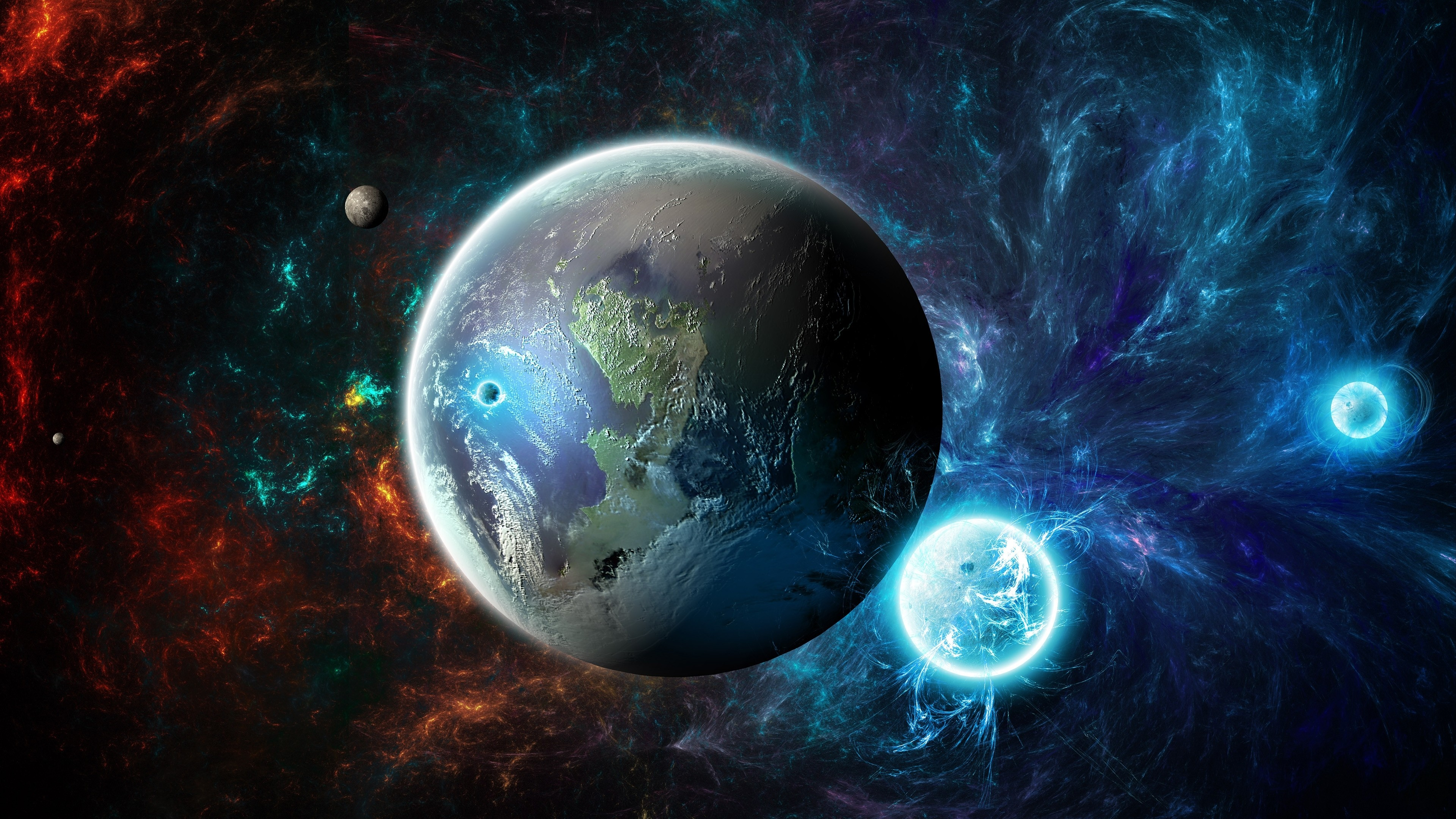 Ultra hd space wallpaper 68 images for 3d outer space map