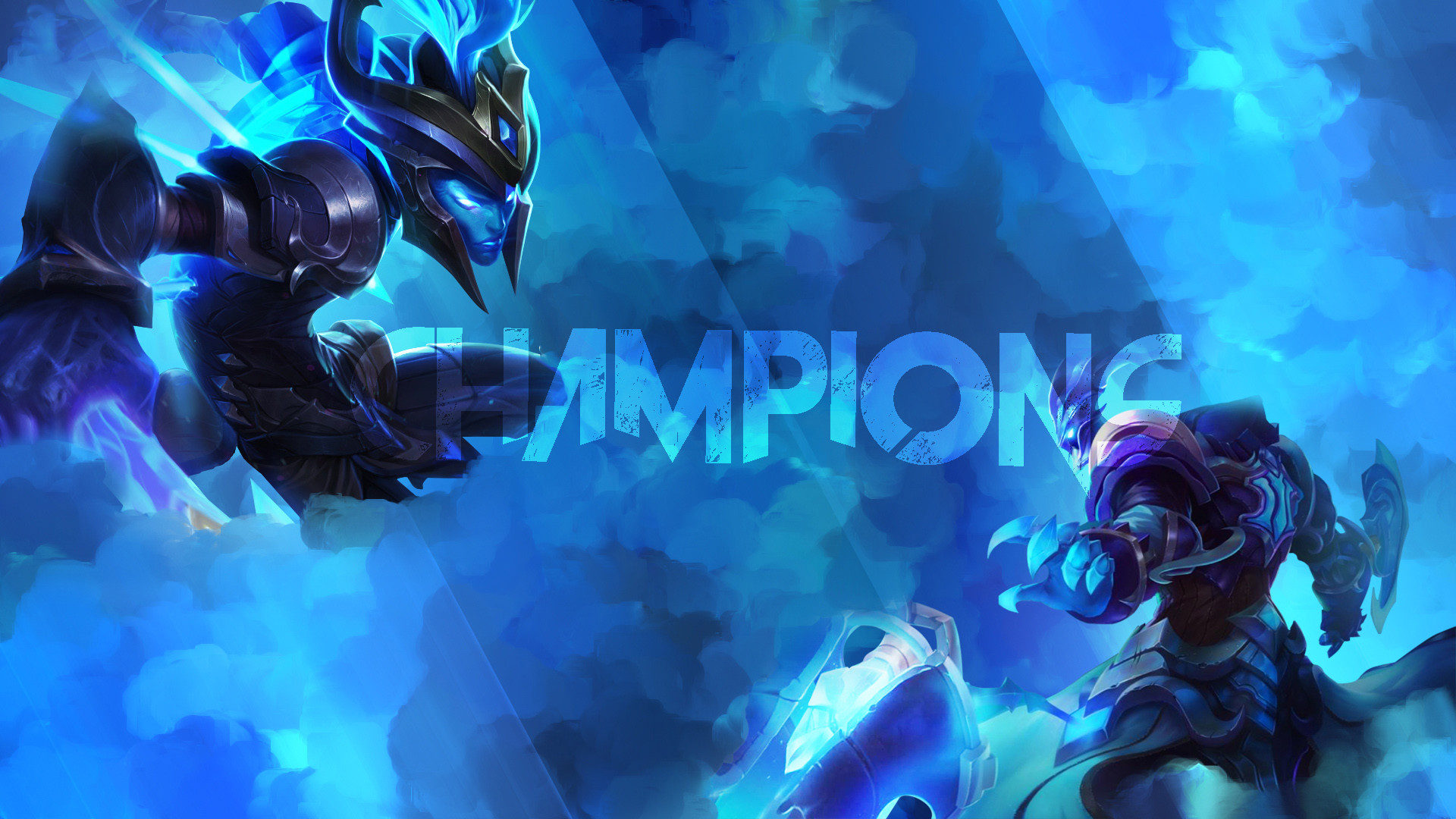 1920x1080 Championship Thresh & Kalista by Platna (2) HD Wallpaper Fan Art Artwork  League of
