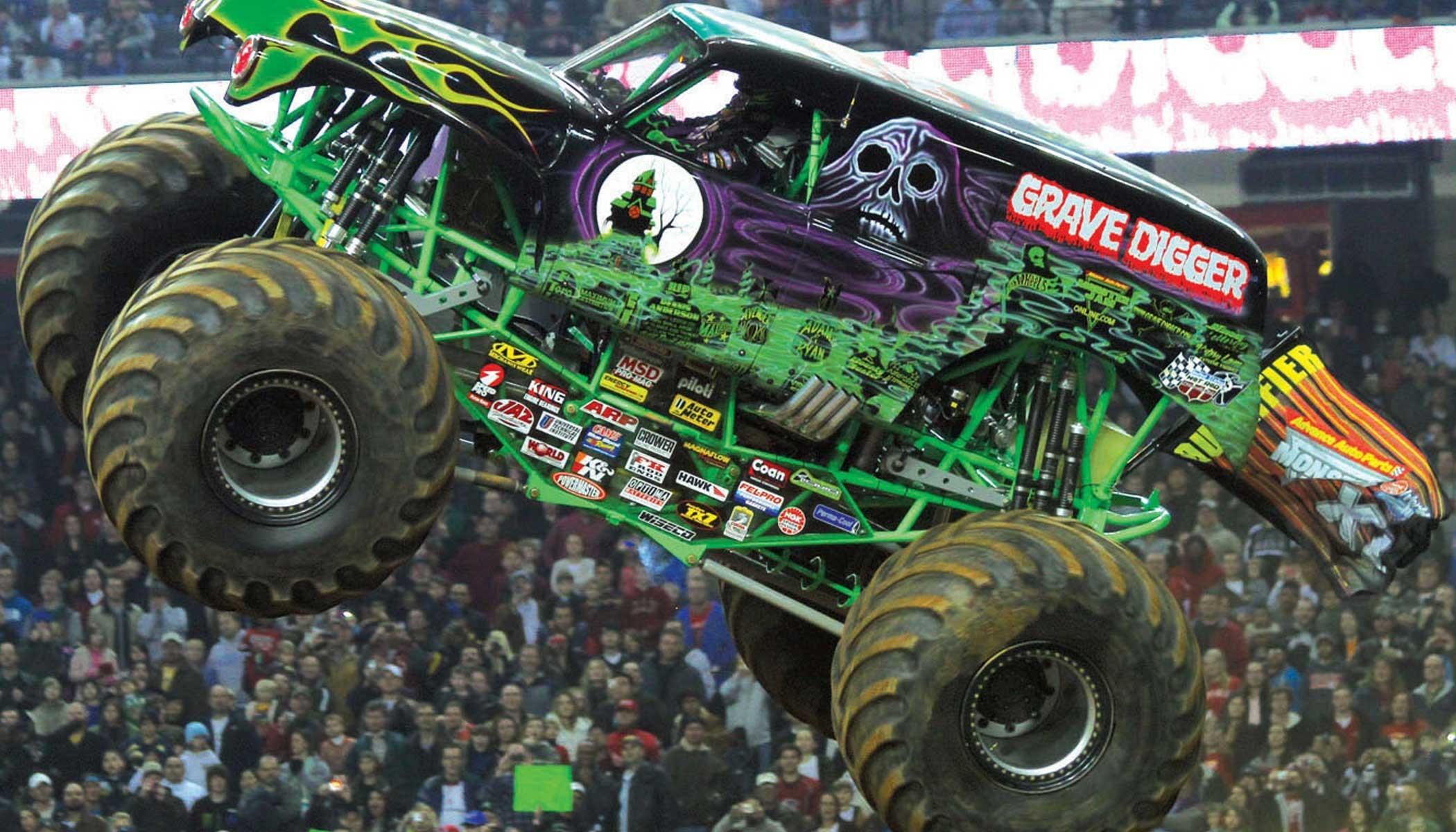 Grave digger monster truck wallpaper 54 images - Grave digger wallpaper ...
