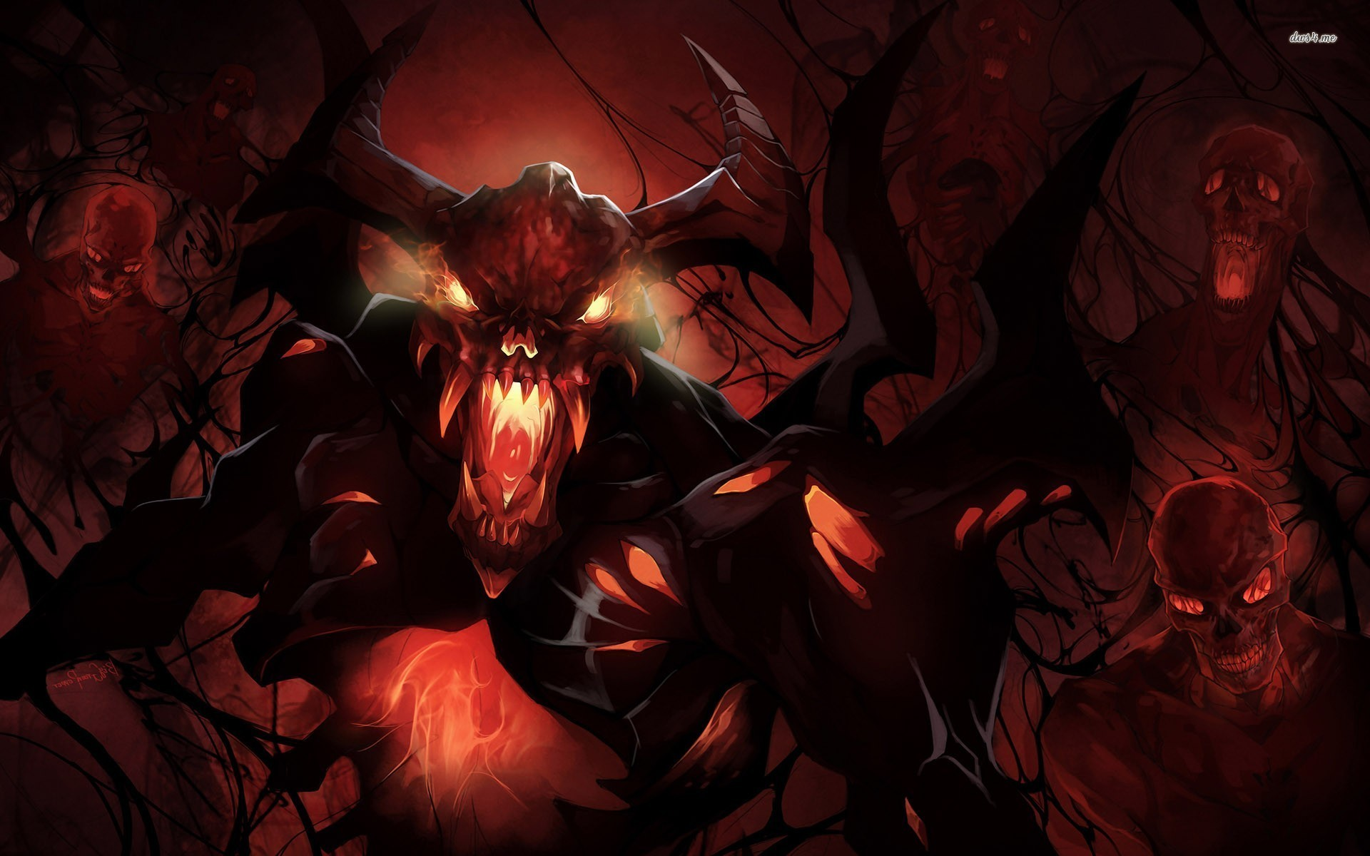 1920x1200 shadow fiend arcana wallpaper #856897