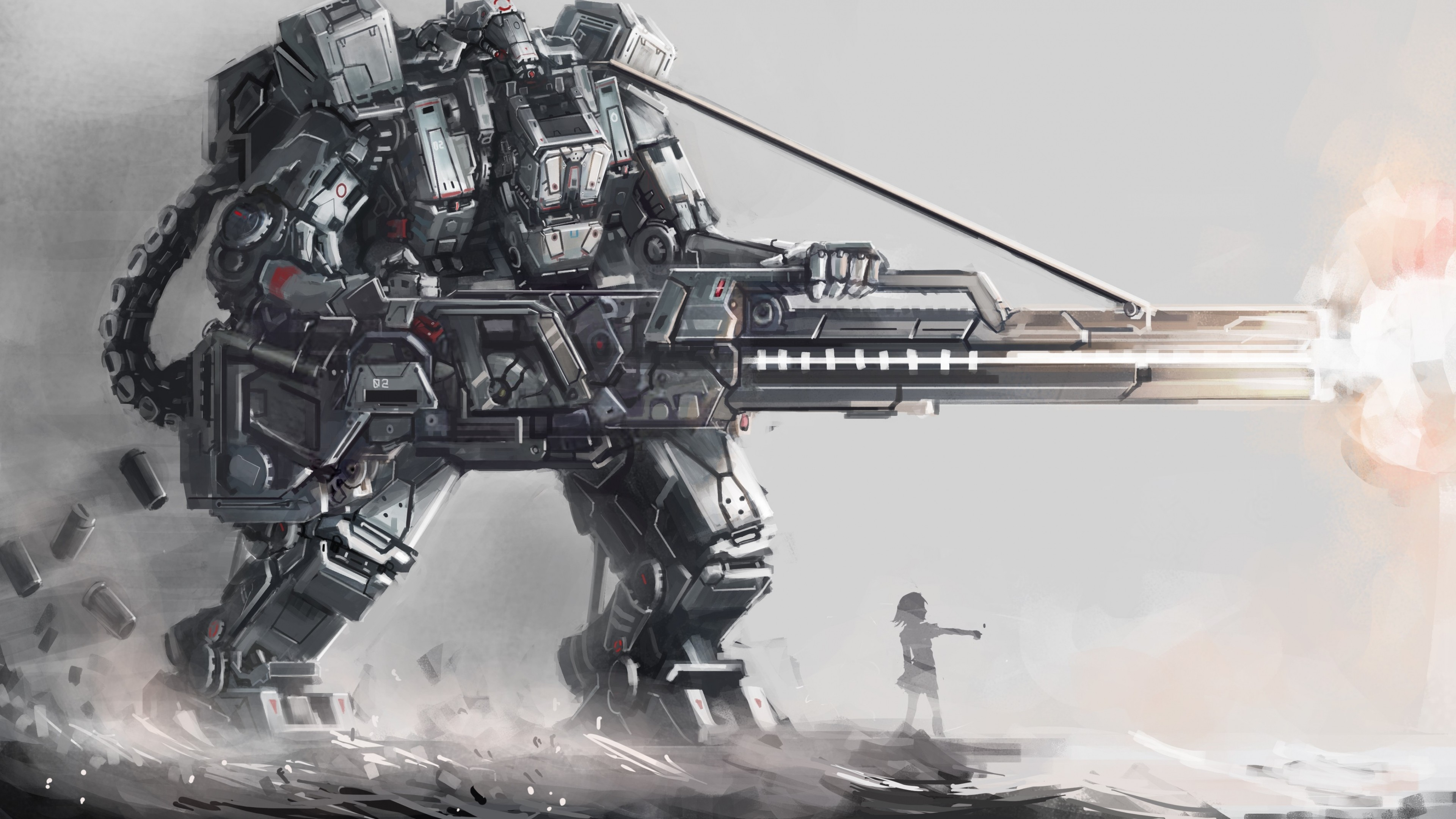 2569x1637 Anime Armored Core Artwork Fantasy Art Mecha Robots Free IPhone Or Android Full HD Wallpaper