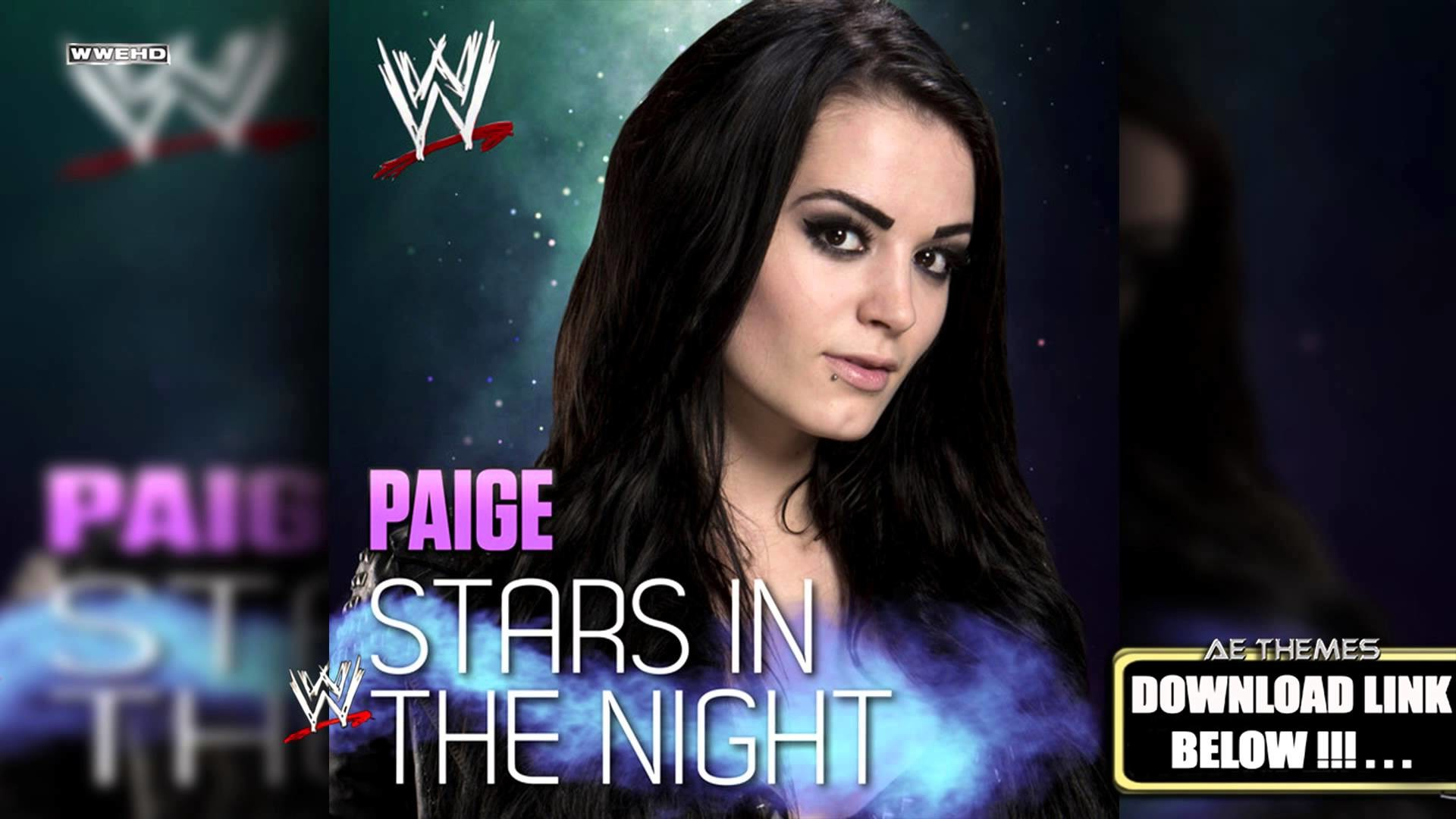 "1920x1080 WWE: ""Stars In The Night"" (Paige) Theme Song + AE (Arena Effect) - YouTube"