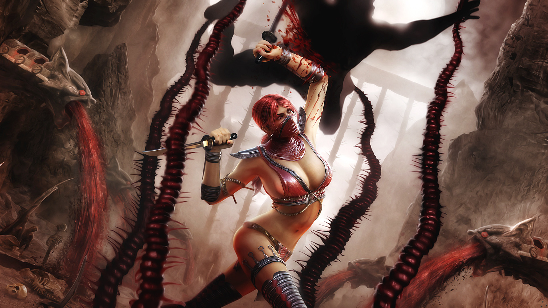 1920x1080 Skarlet in Mortal Kombat