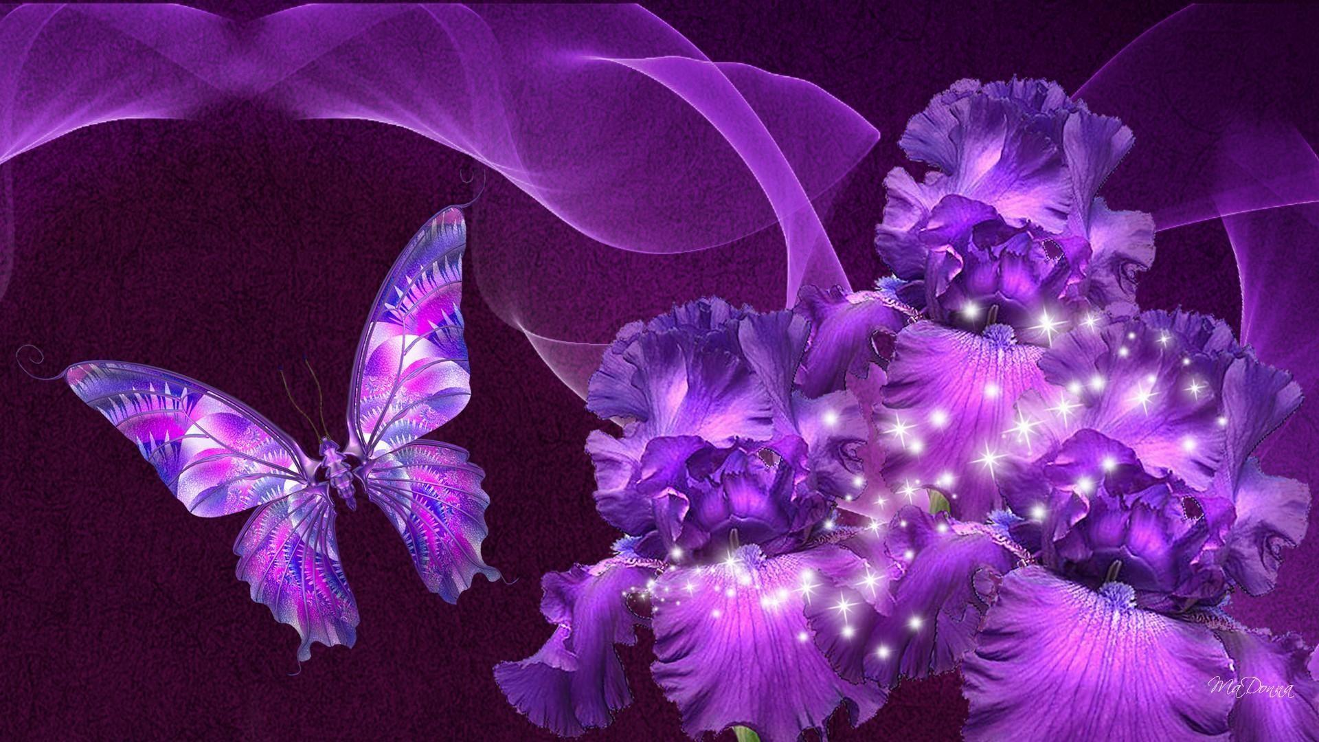 1920x1080 Wallpaper Flowers And Butterflies