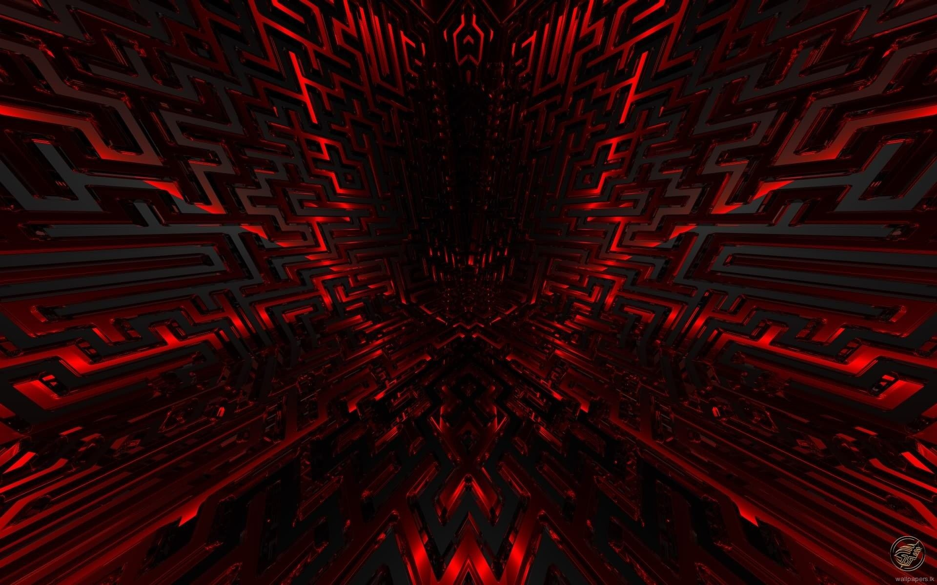 1920x1200 Black And Red HD Wallpaper.