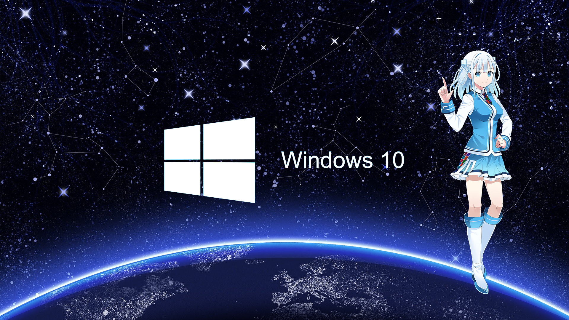 Lock Screen Windows 10 Full Hd Anime Wallpaper