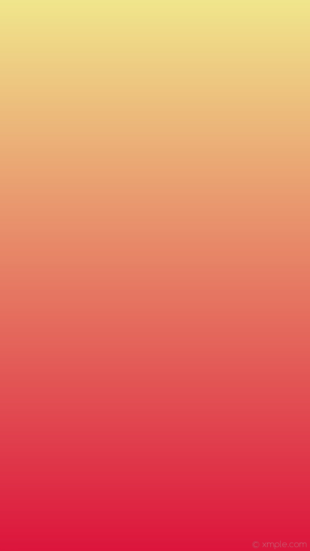 1080x1920 wallpaper linear red yellow gradient khaki crimson #f0e68c #dc143c 90°