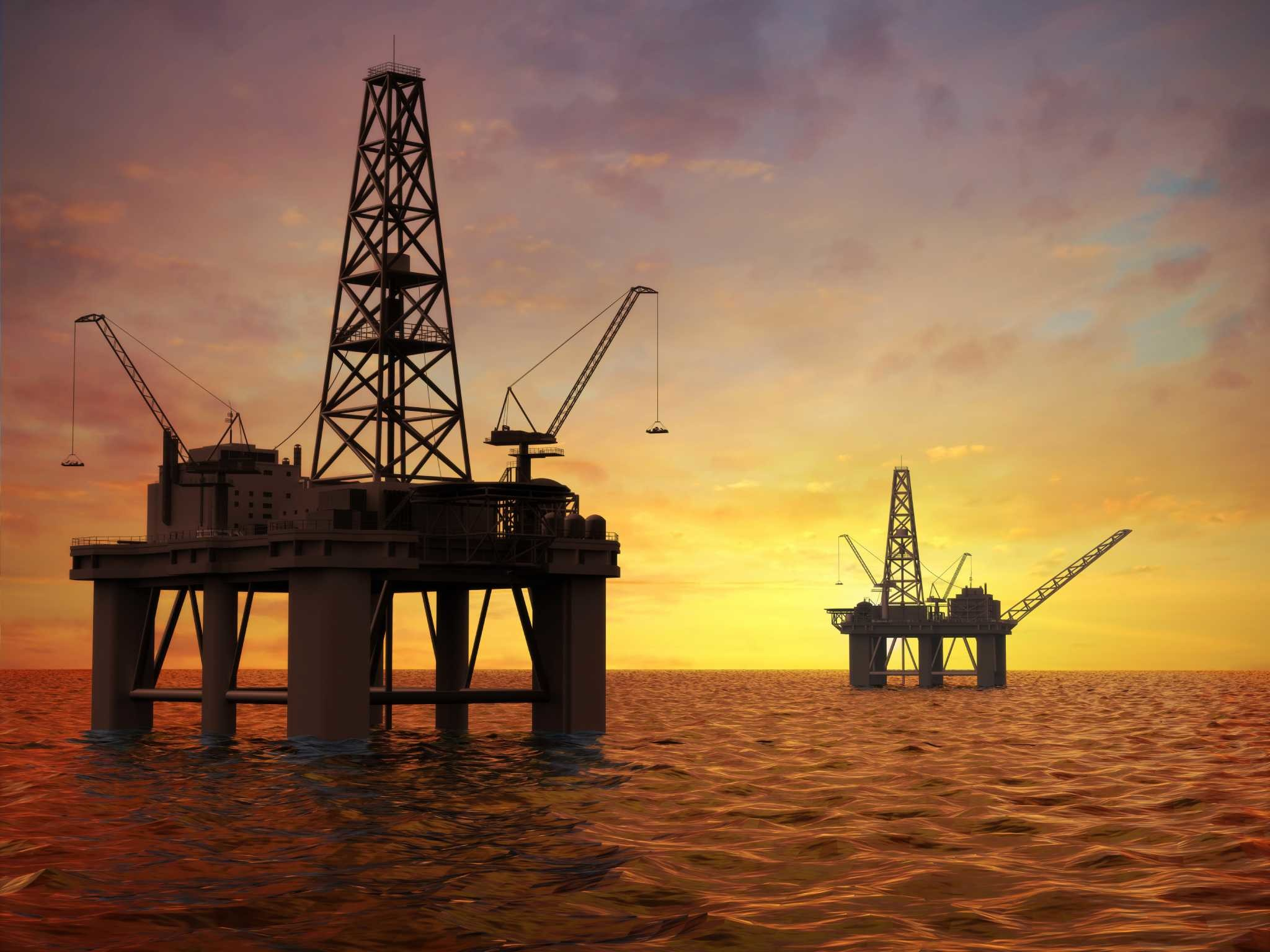 2048x1536 Images For > Oil And Gas Platform Wallpaper