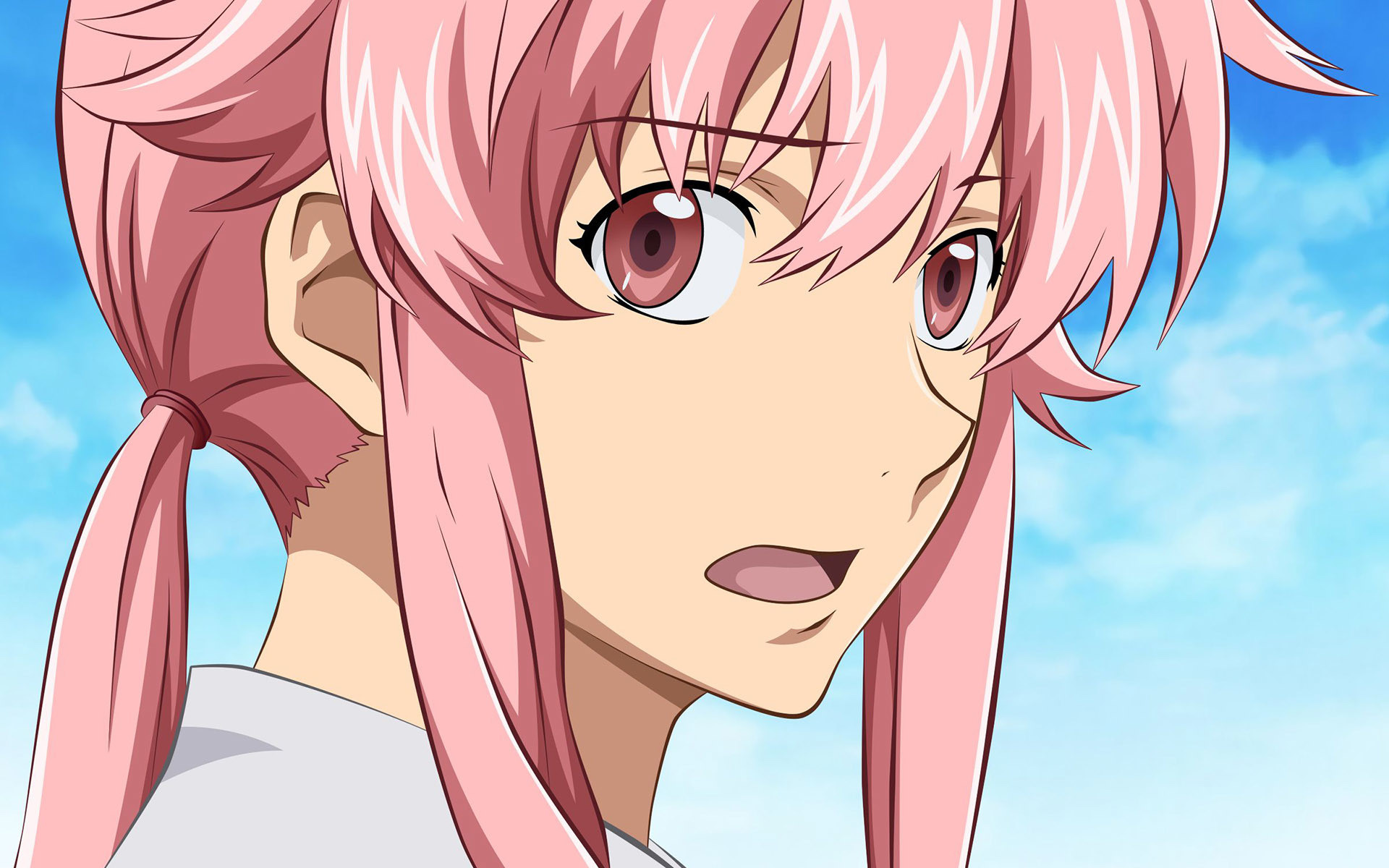 1920x1200 ... Yuno Gasai - Future Diary HD Wallpaper