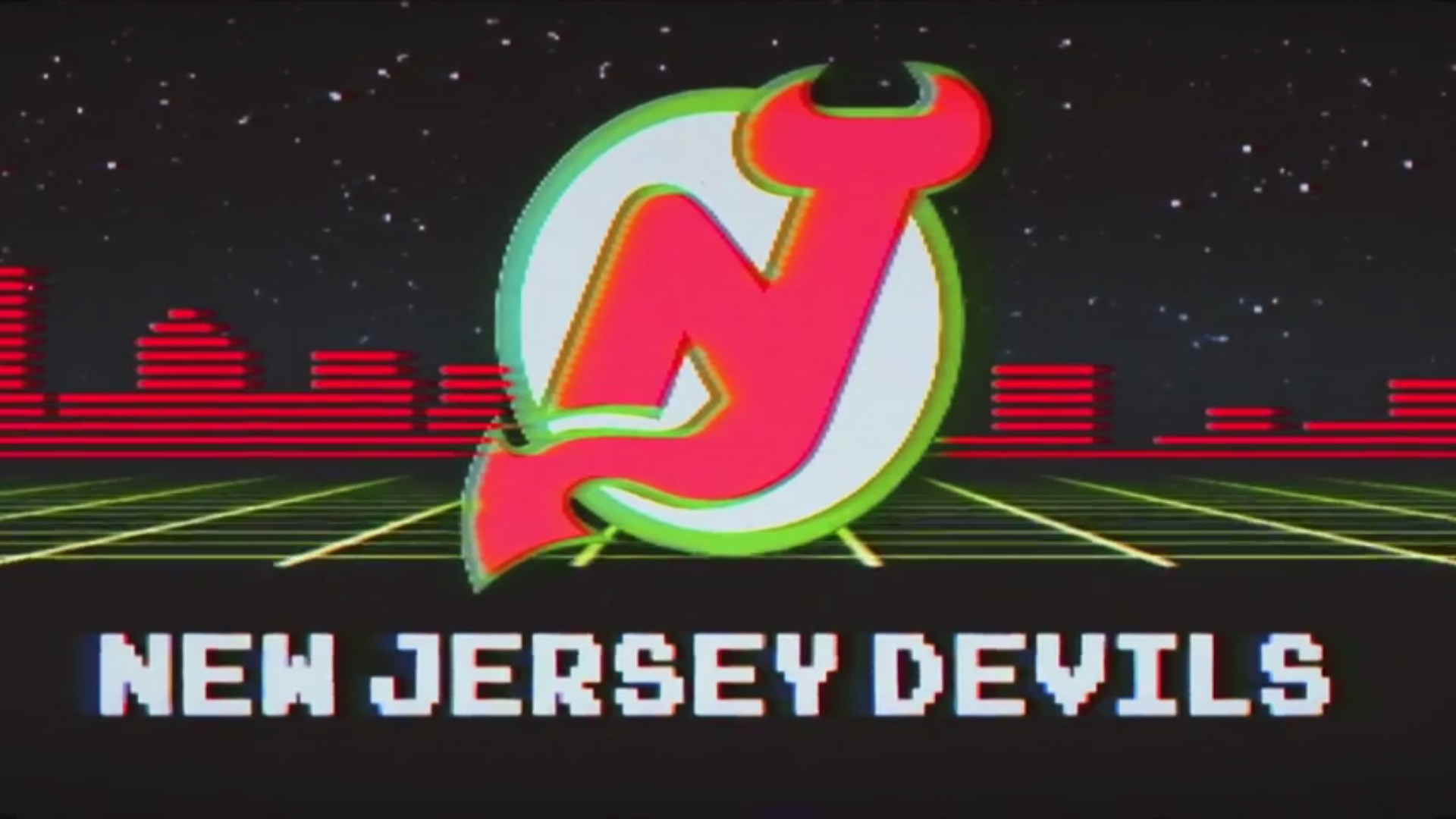 1920x1080 Here's a wallpaper-sized version of the retro Devils logo from the retro  night promo!