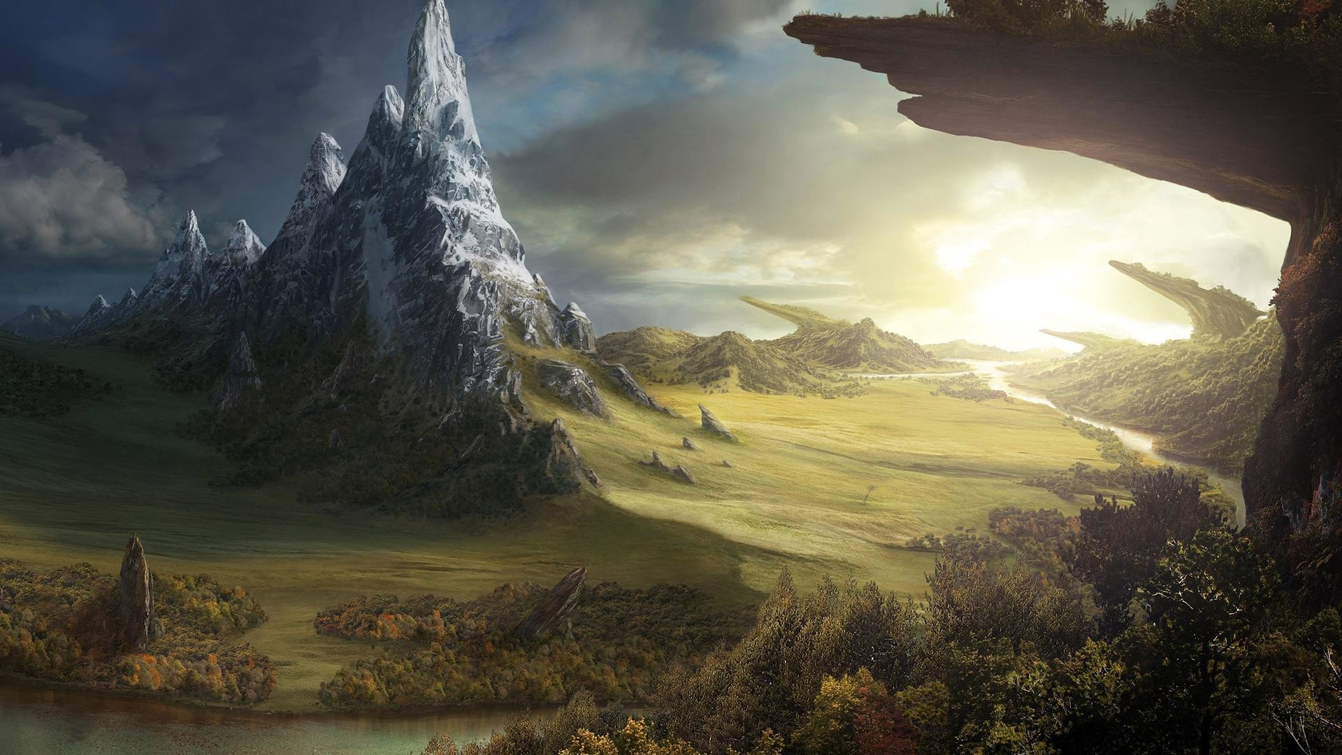 1920x1080  The wild mountain scenery desktop background wide wallpapers:1280x800,1440x900,1680x1050  -