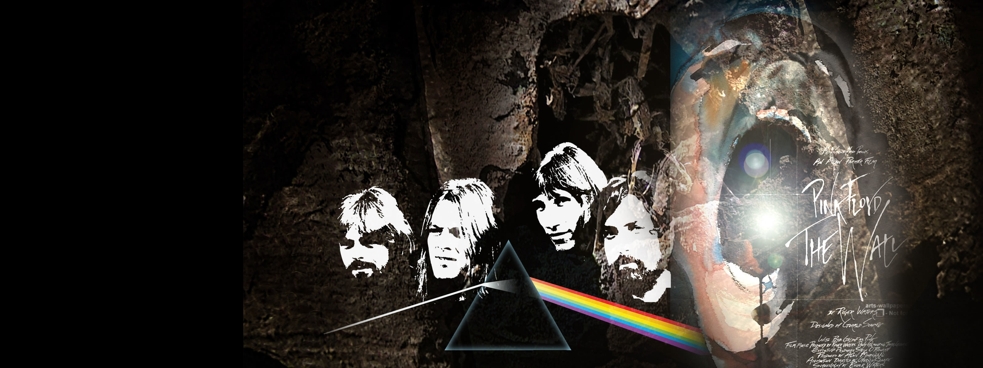 3200x1200 pink floyd wallpaper