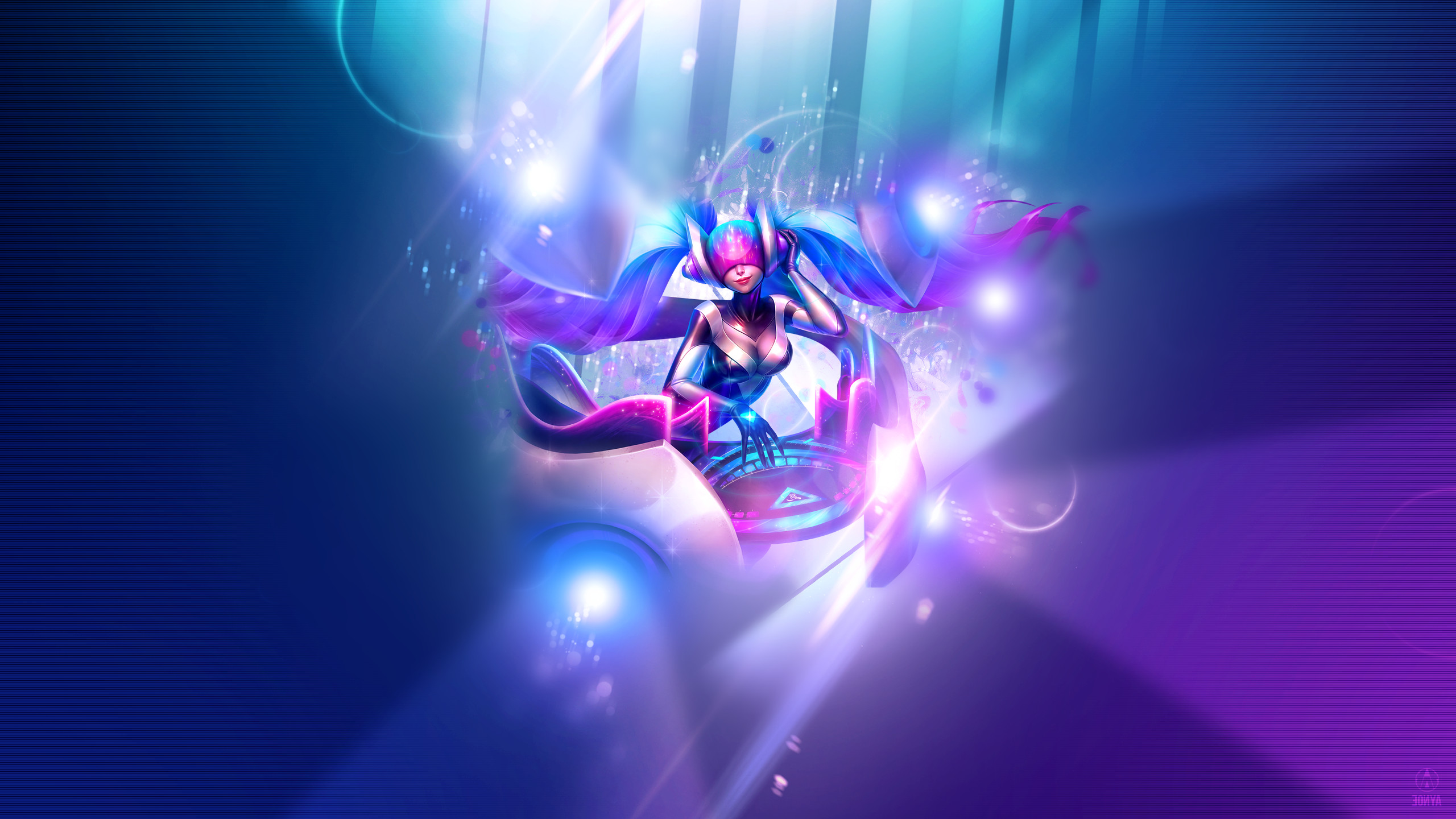 2560x1440 League Of Legends, Support, Sona